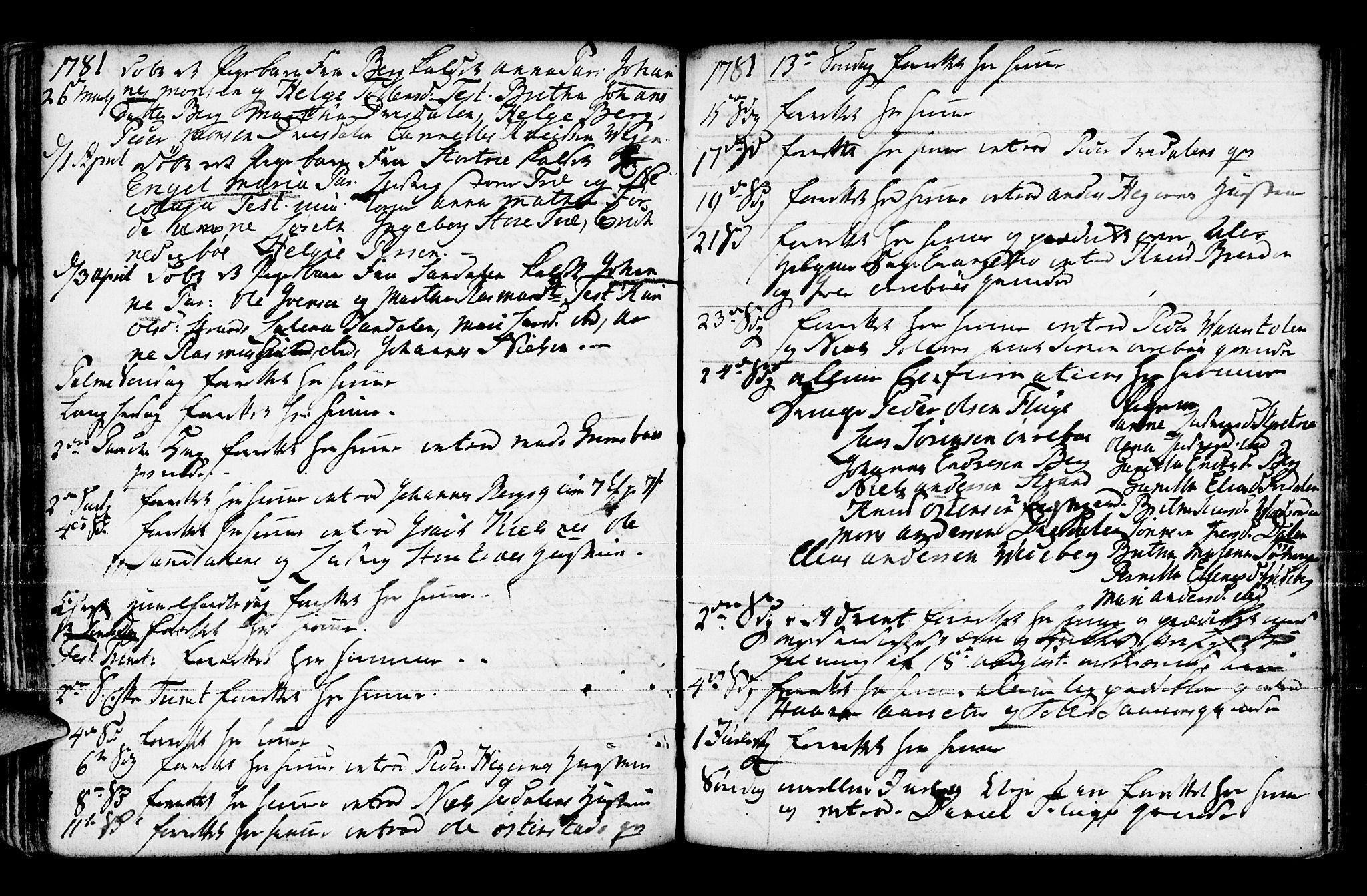 SAB, Jølster Sokneprestembete, Ministerialbok nr. A 3, 1748-1789, s. 174