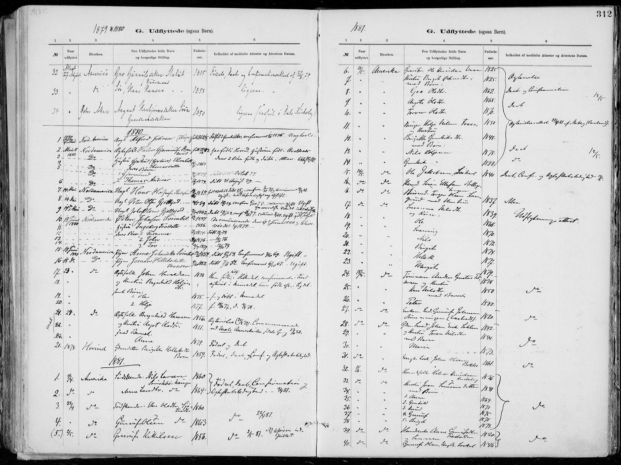 SAKO, Tinn kirkebøker, F/Fa/L0007: Ministerialbok nr. I 7, 1878-1922, s. 312