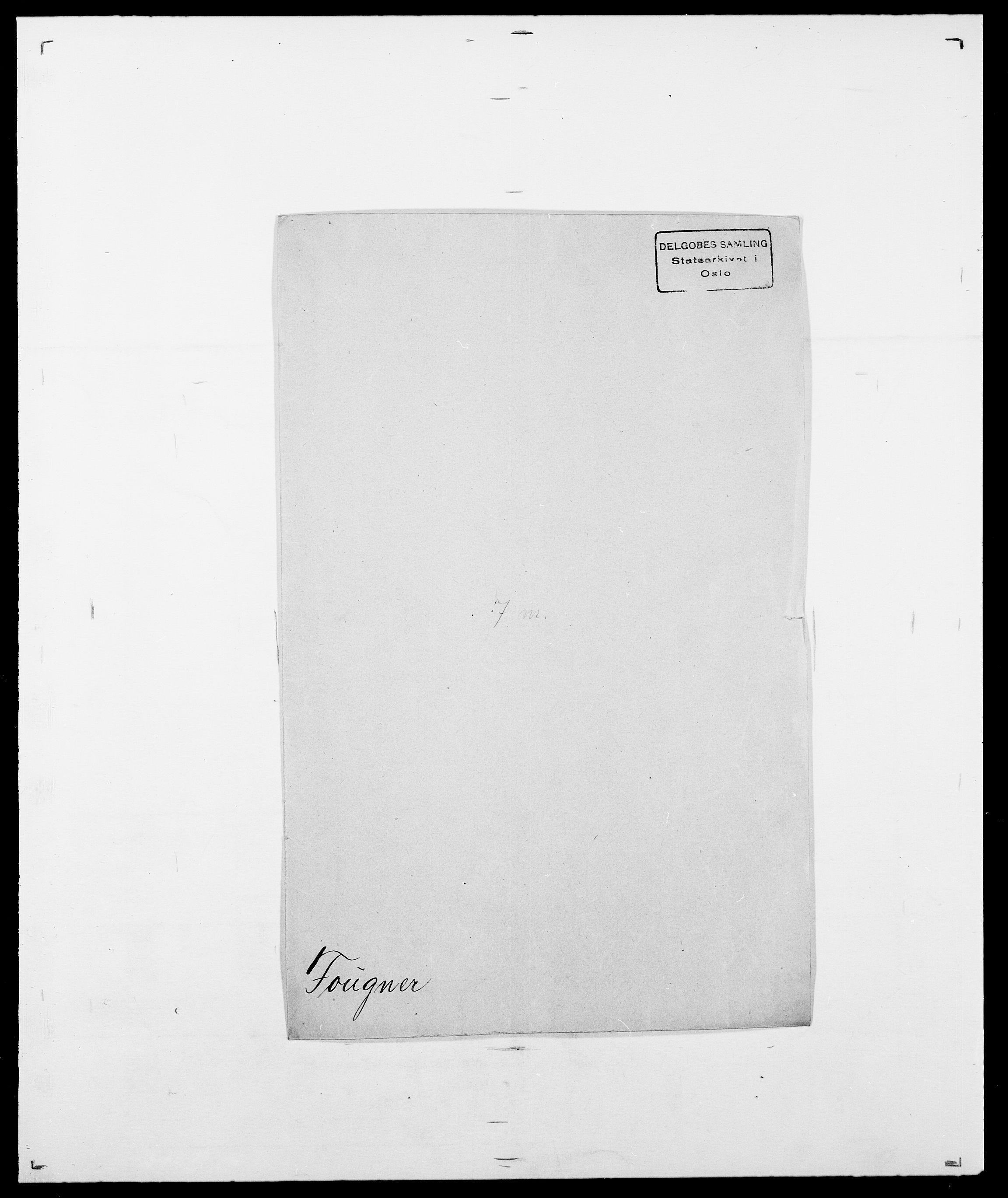 SAO, Delgobe, Charles Antoine - samling, D/Da/L0012: Flor, Floer, Flohr - Fritzner, s. 674