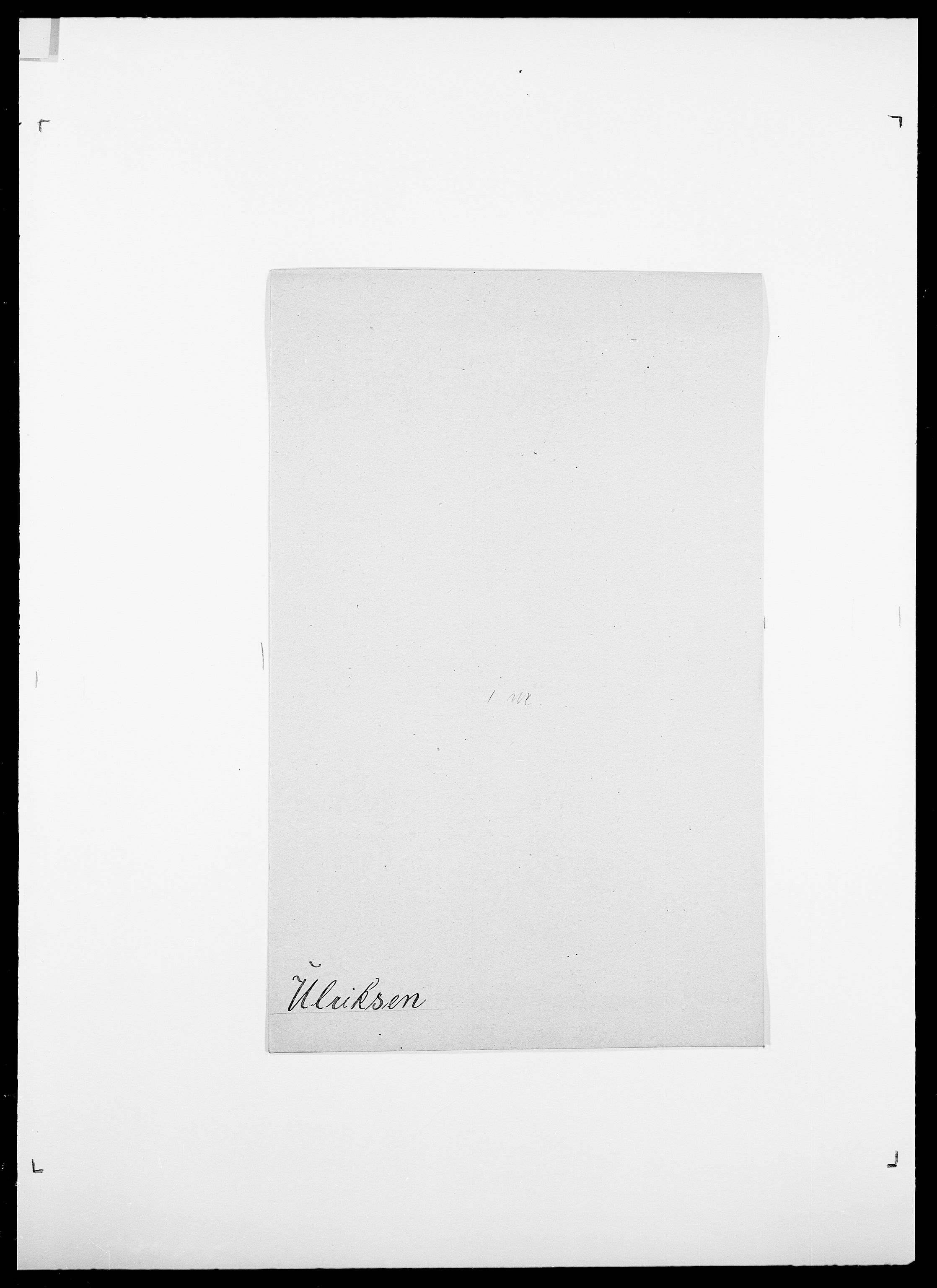 SAO, Delgobe, Charles Antoine - samling, D/Da/L0039: Thorsen - Urup, s. 690