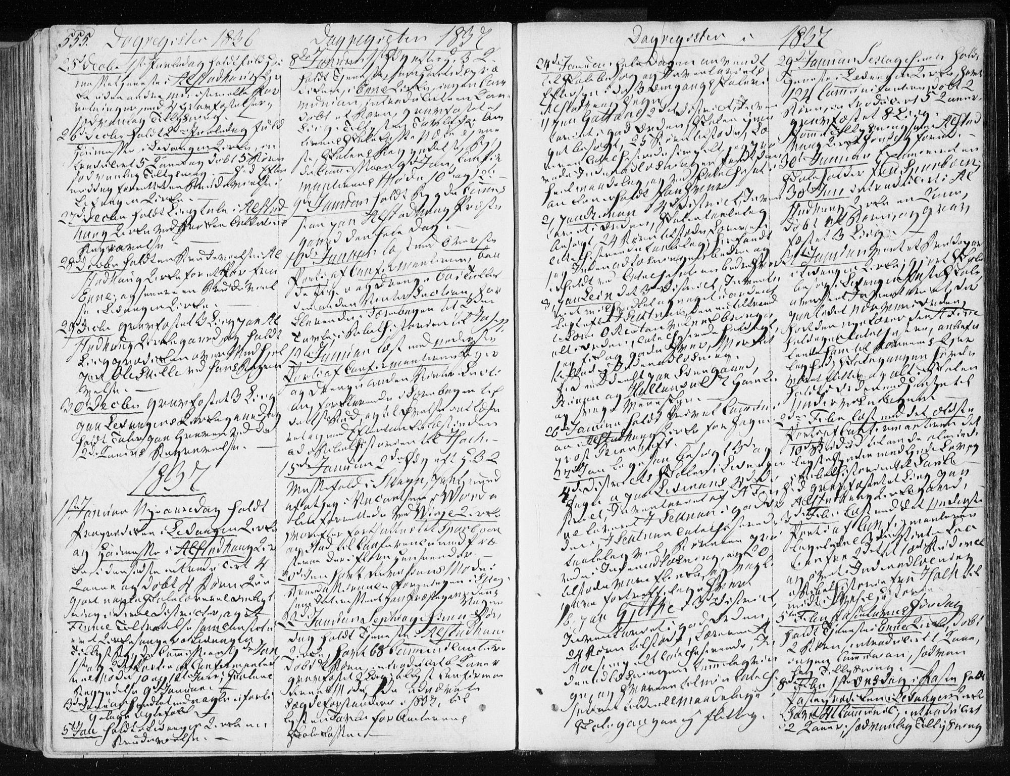 SAT, Ministerialprotokoller, klokkerbøker og fødselsregistre - Nord-Trøndelag, 717/L0154: Ministerialbok nr. 717A06 /1, 1836-1849, s. 555