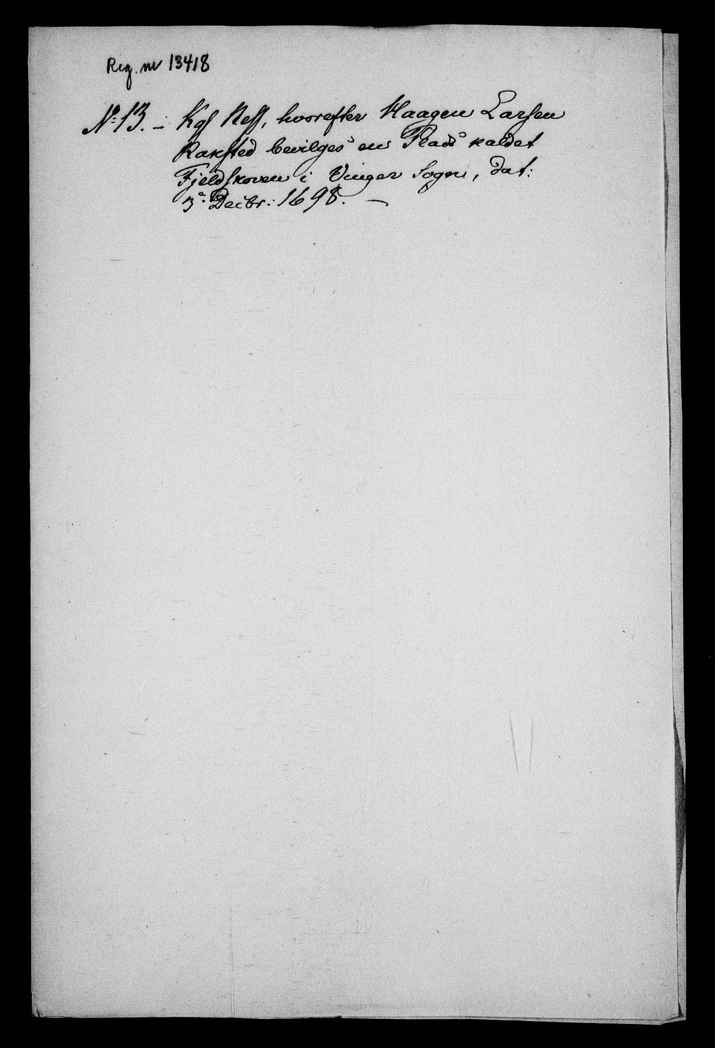 RA, Rentekammeret inntil 1814, Realistisk ordnet avdeling, On/L0013: [Jj 14]: Forskjellige dokumenter om krongodset i Norge, 1672-1722, s. 366