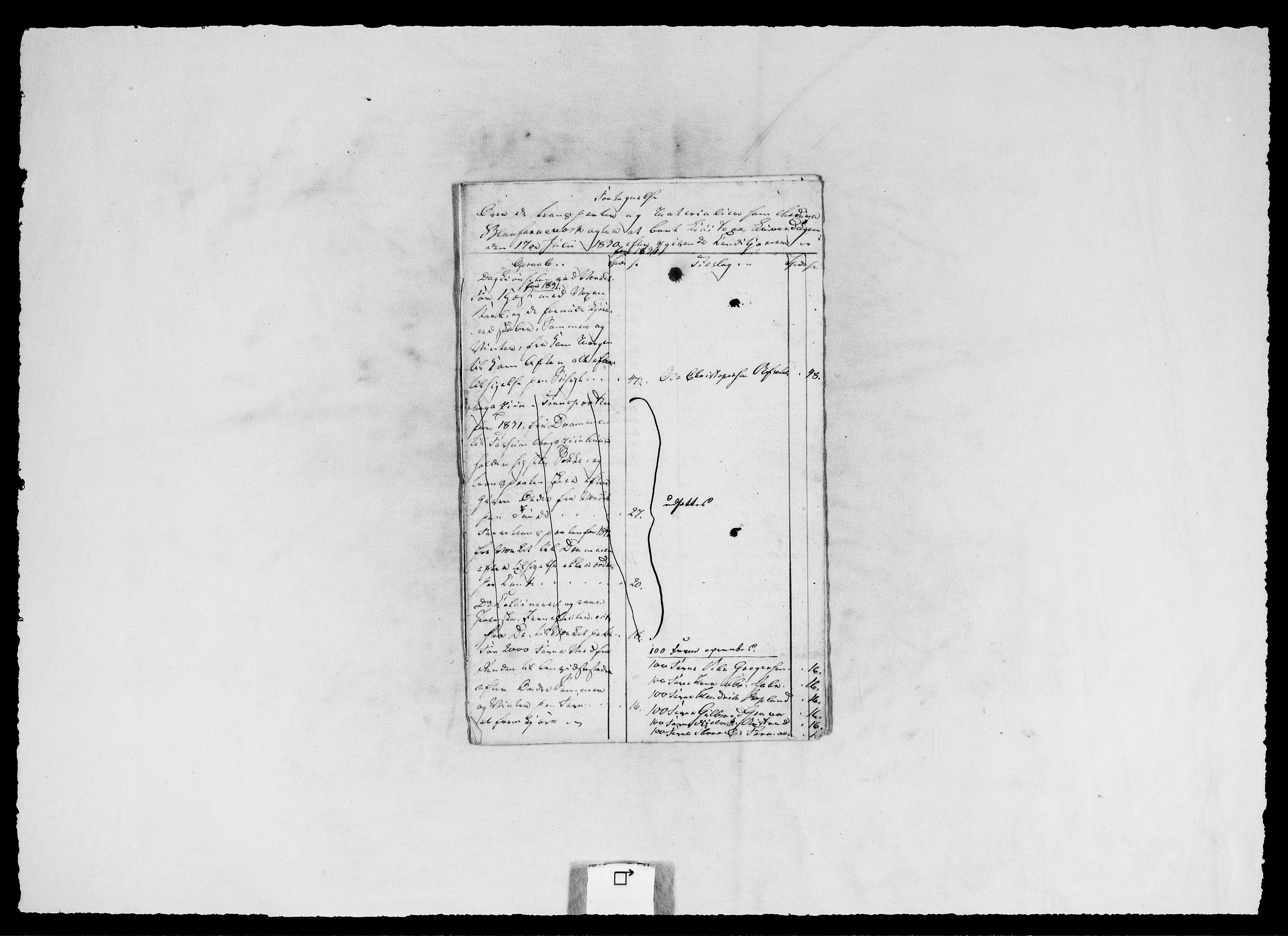 RA, Modums Blaafarveværk, G/Ga/L0063, 1827-1849, s. 155