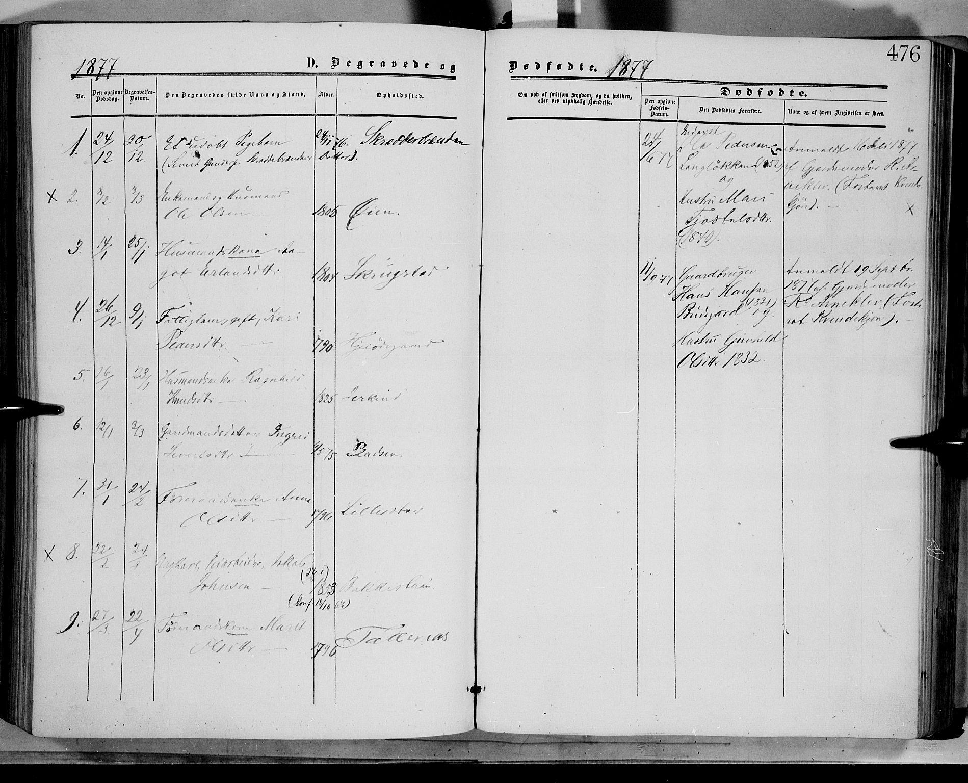 SAH, Dovre prestekontor, Ministerialbok nr. 1, 1854-1878, s. 476