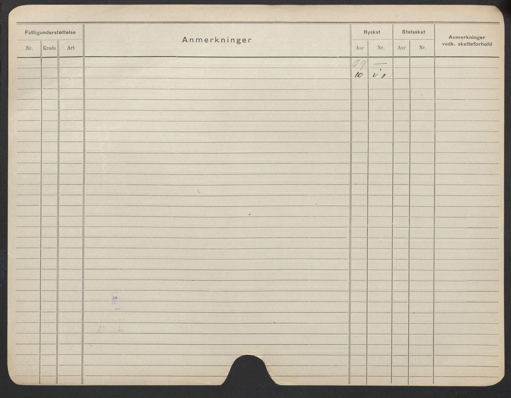 SAO, Oslo folkeregister, Registerkort, F/Fa/Fac/L0021: Kvinner, 1906-1914, s. 1051b