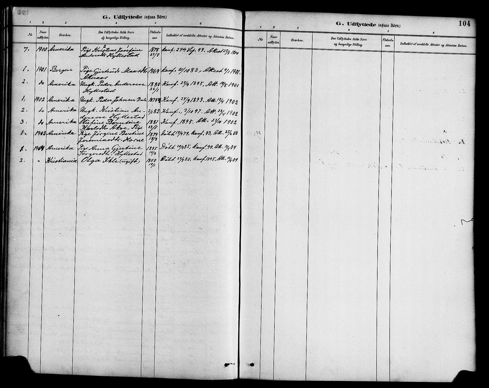 SAB, Hyllestad sokneprestembete, Ministerialbok nr. B 1, 1886-1904, s. 104