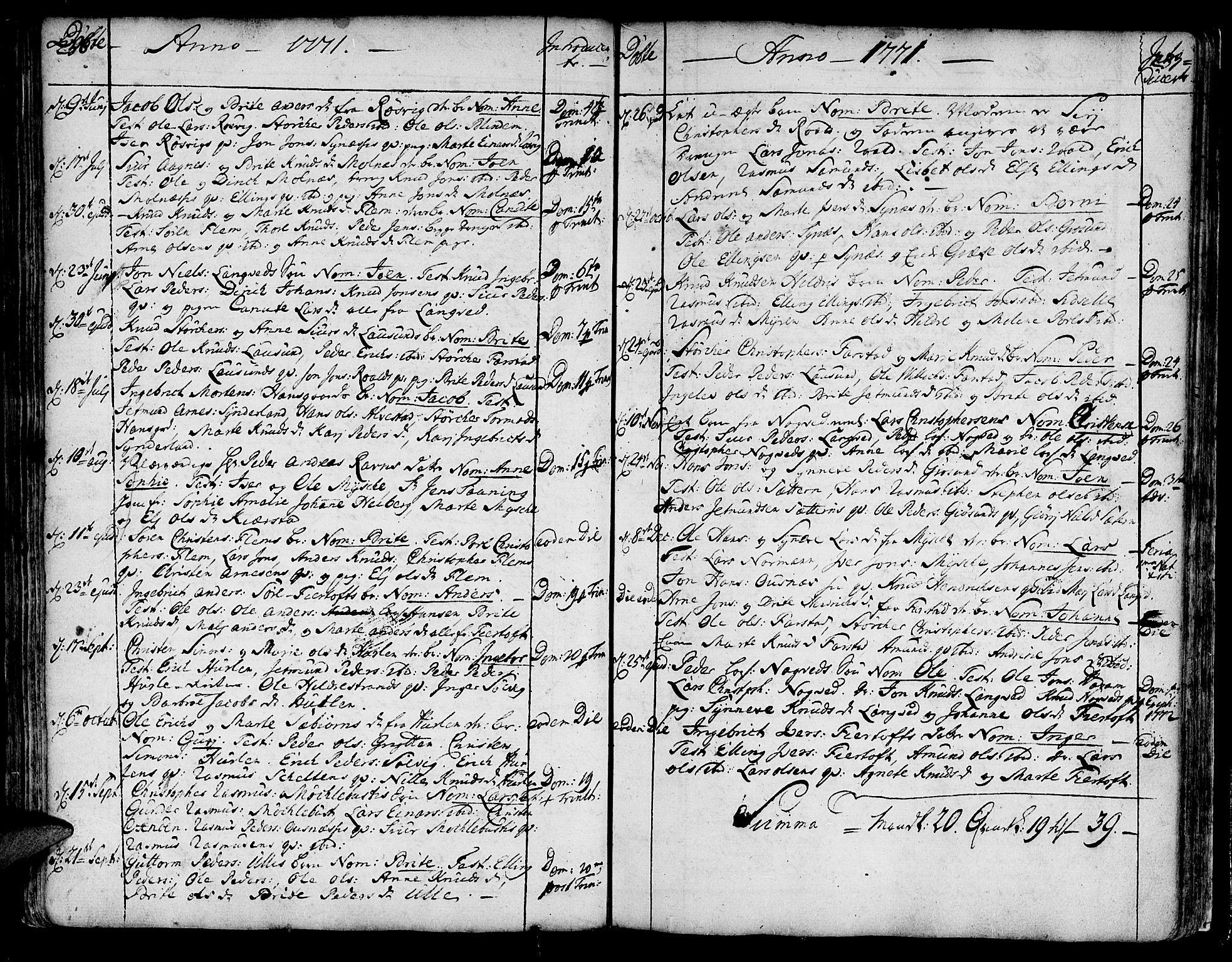 SAT, Ministerialprotokoller, klokkerbøker og fødselsregistre - Møre og Romsdal, 536/L0493: Ministerialbok nr. 536A02, 1739-1802, s. 236-237