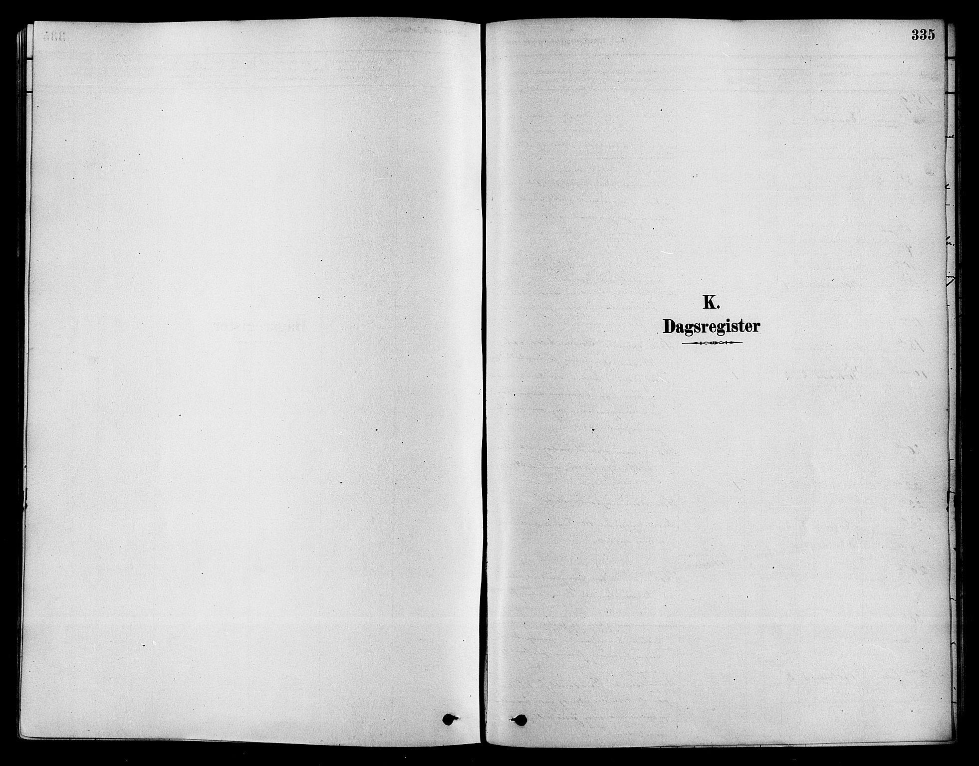 SAKO, Sigdal kirkebøker, F/Fa/L0011: Ministerialbok nr. I 11, 1879-1887, s. 335