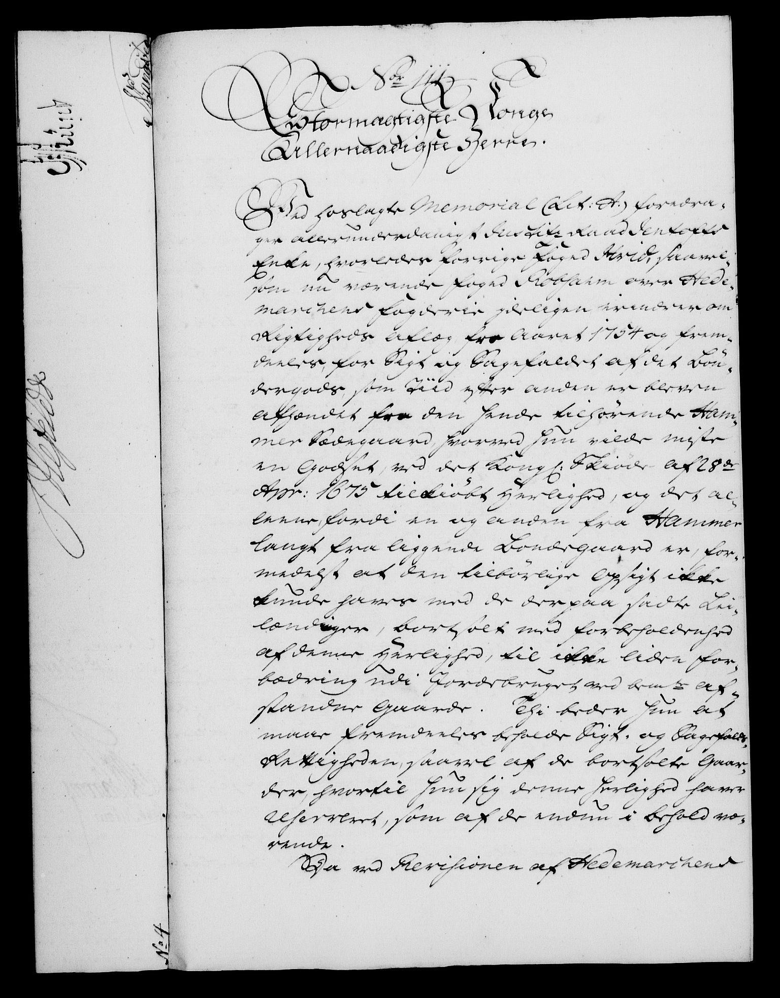 RA, Rentekammeret, Kammerkanselliet, G/Gf/Gfa/L0046: Norsk relasjons- og resolusjonsprotokoll (merket RK 52.46), 1764, s. 441