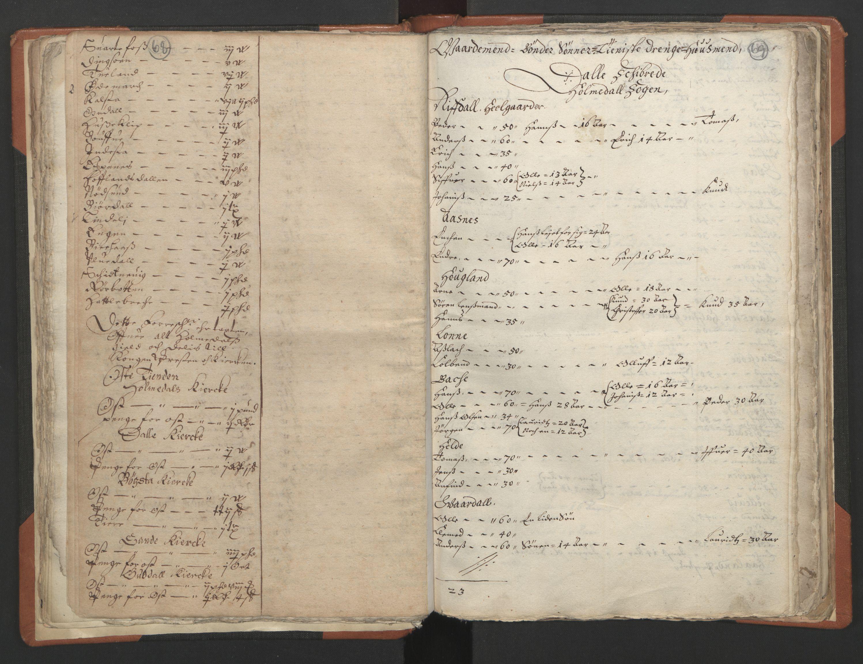 RA, Sogneprestenes manntall 1664-1666, nr. 24: Sunnfjord prosti, 1664-1666, s. 68-69