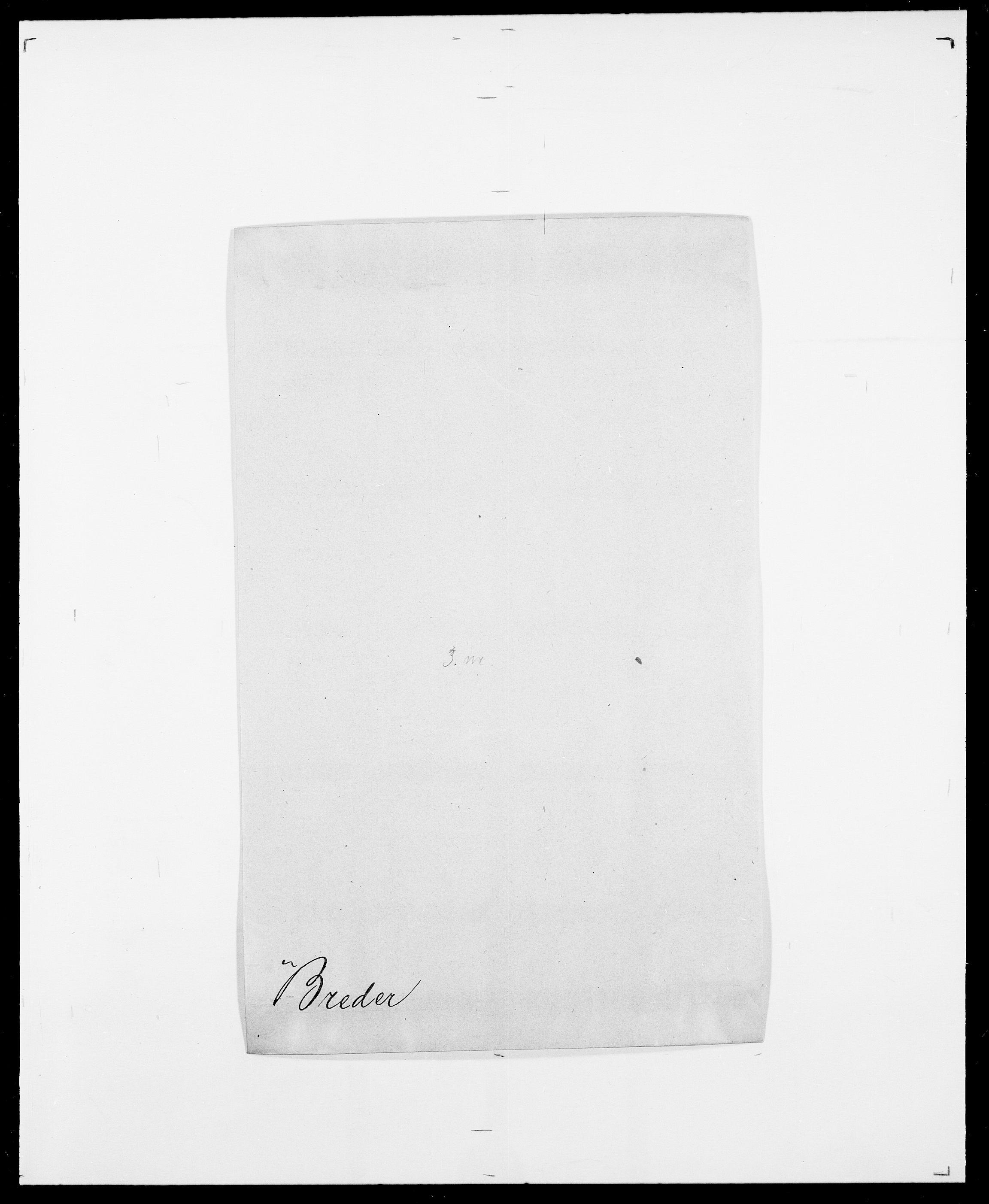 SAO, Delgobe, Charles Antoine - samling, D/Da/L0006: Brambani - Brønø, s. 254