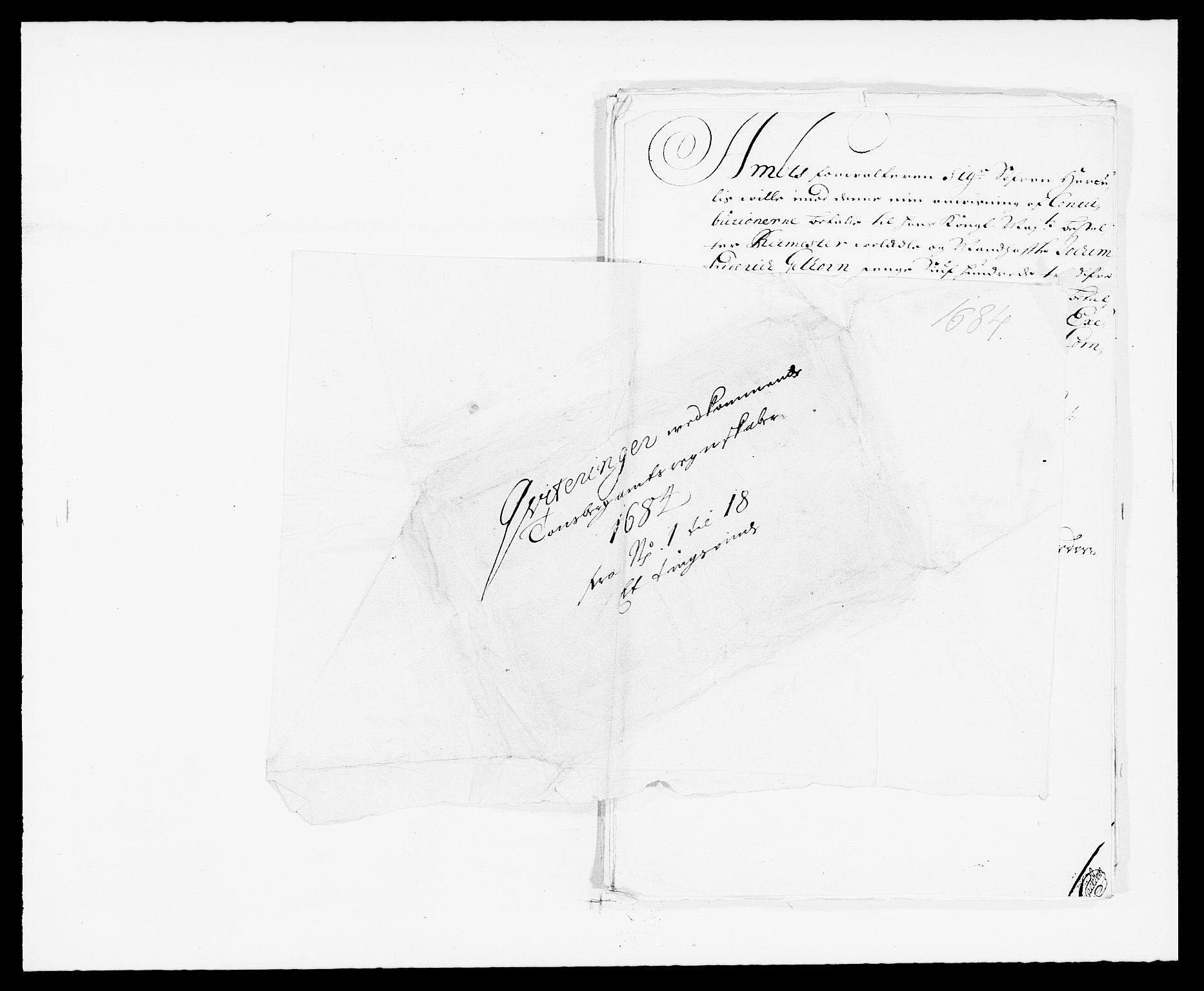 RA, Rentekammeret inntil 1814, Reviderte regnskaper, Fogderegnskap, R32/L1855: Fogderegnskap Jarlsberg grevskap, 1684, s. 163