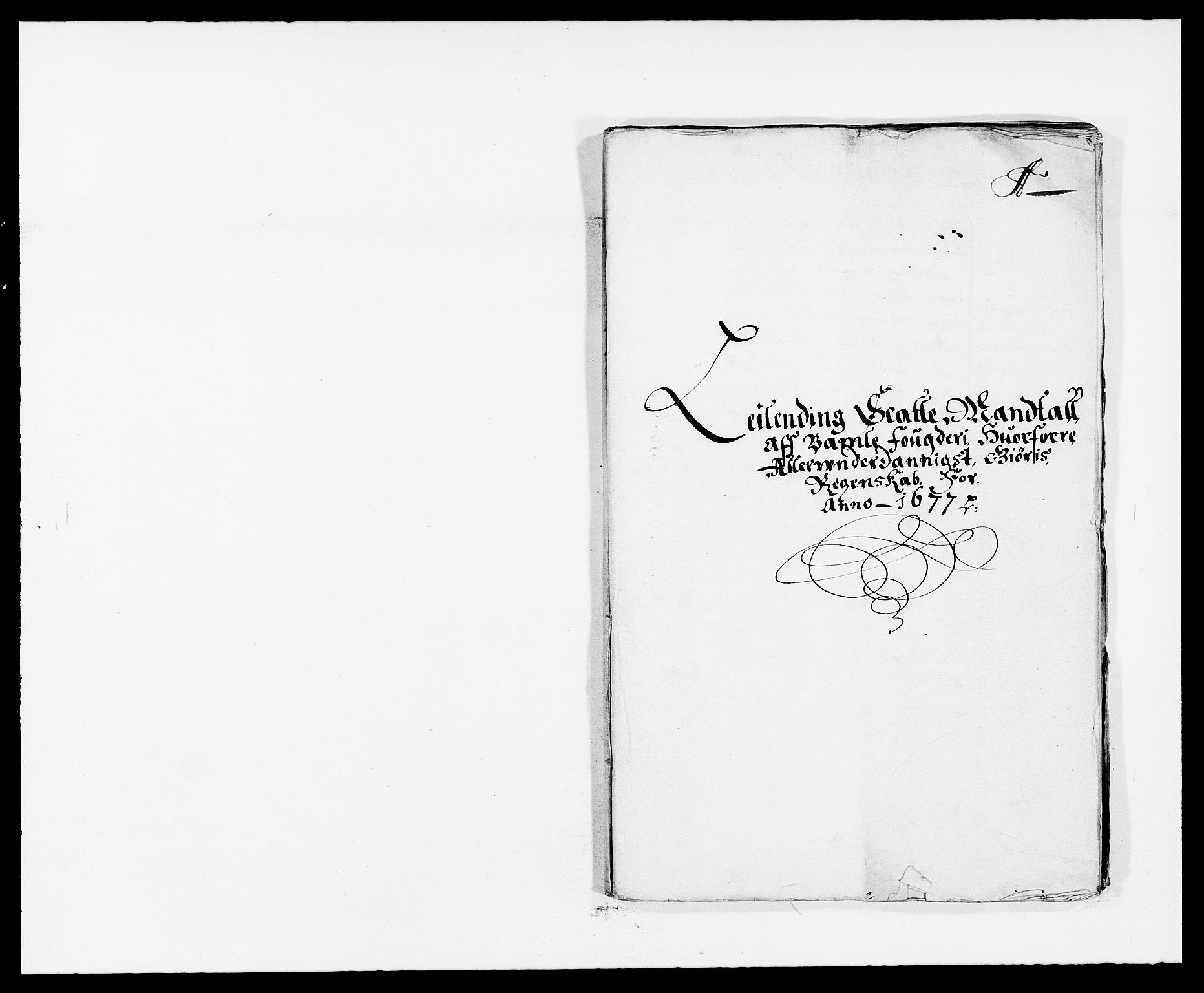 RA, Rentekammeret inntil 1814, Reviderte regnskaper, Fogderegnskap, R34/L2043: Fogderegnskap Bamble, 1676-1677, s. 223