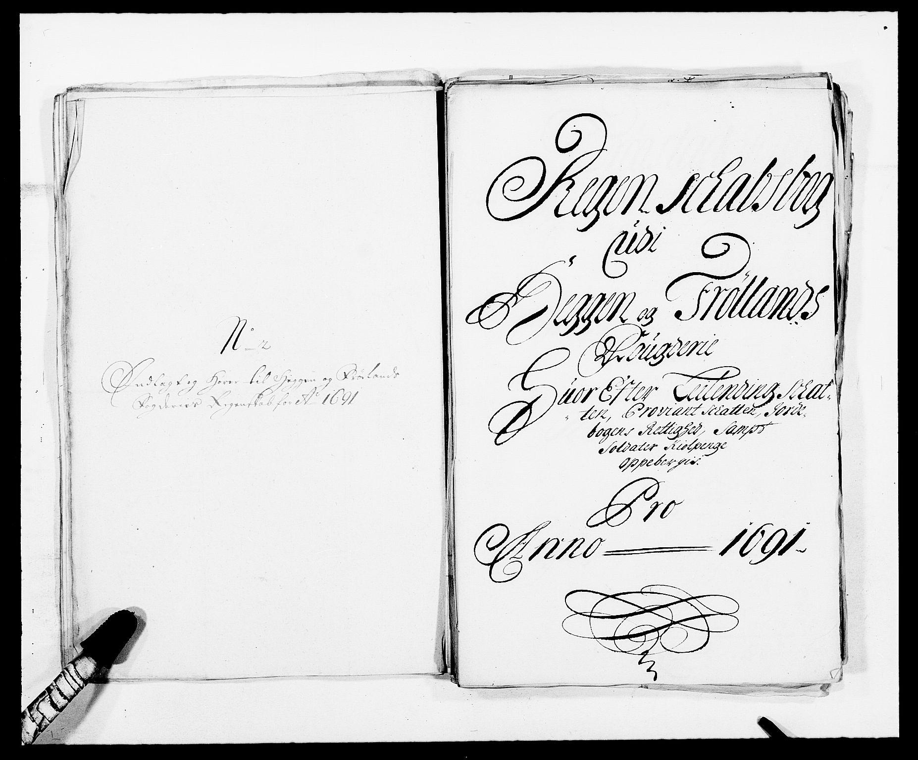 RA, Rentekammeret inntil 1814, Reviderte regnskaper, Fogderegnskap, R06/L0283: Fogderegnskap Heggen og Frøland, 1691-1693, s. 30