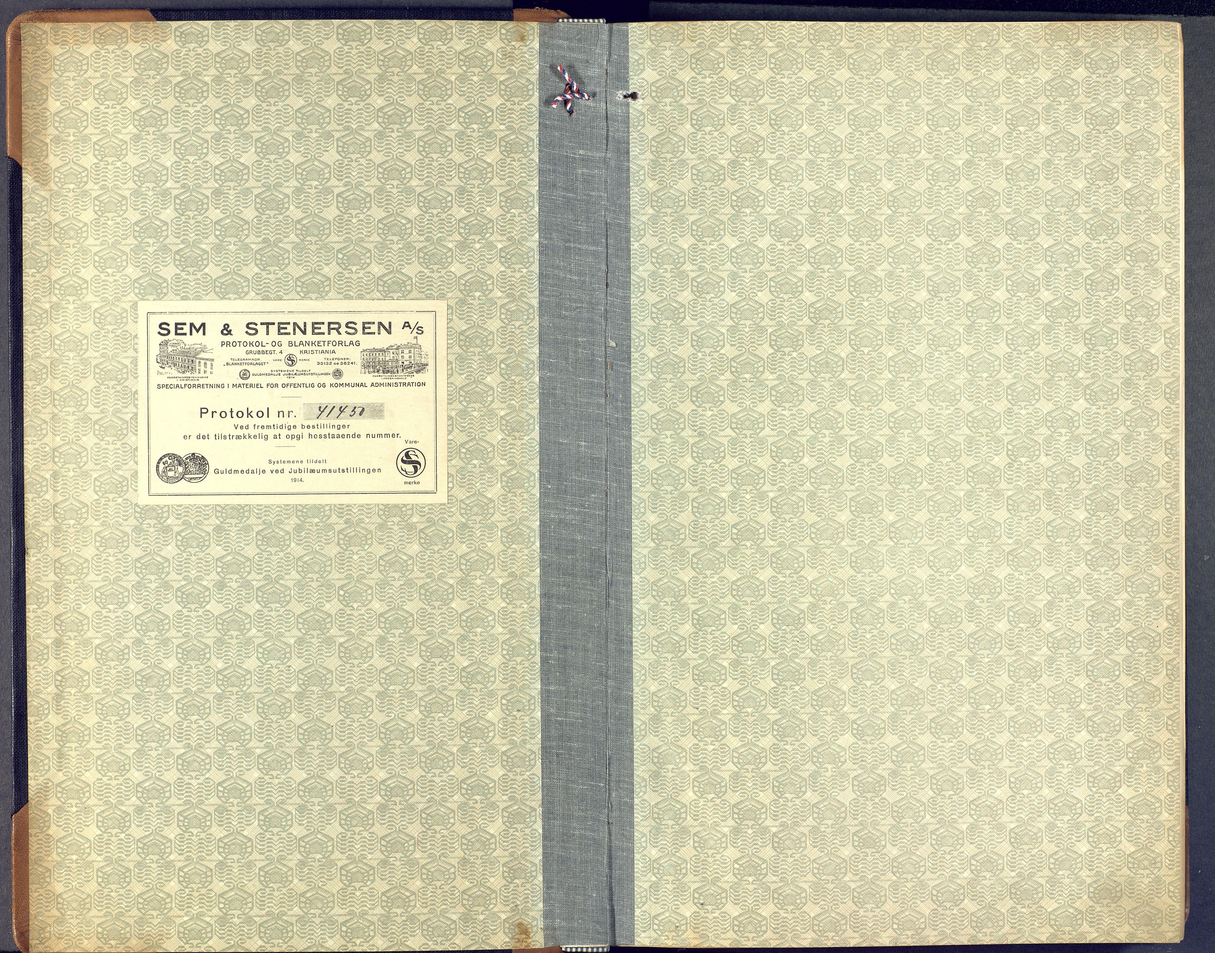 SAKO, Lunde kirkebøker, F/Fa/L0006: Ministerialbok nr. I 6, 1922-1940
