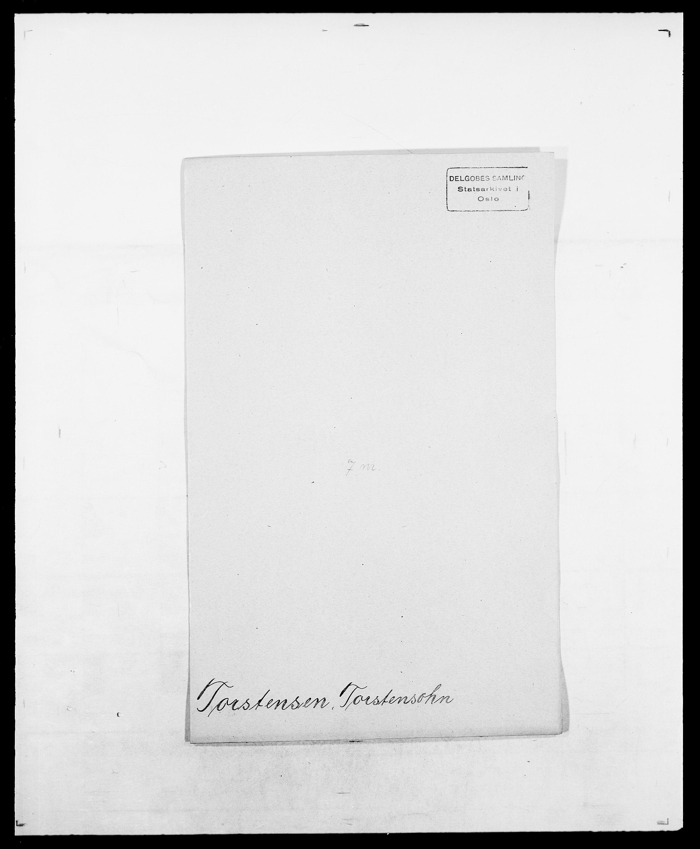 SAO, Delgobe, Charles Antoine - samling, D/Da/L0039: Thorsen - Urup, s. 255