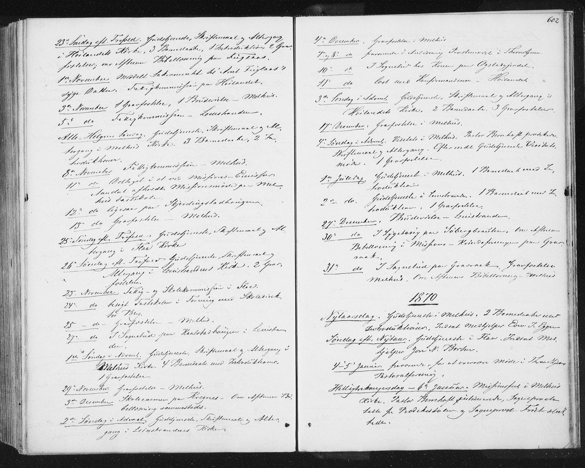 SAT, Ministerialprotokoller, klokkerbøker og fødselsregistre - Sør-Trøndelag, 691/L1077: Ministerialbok nr. 691A09, 1862-1873, s. 602