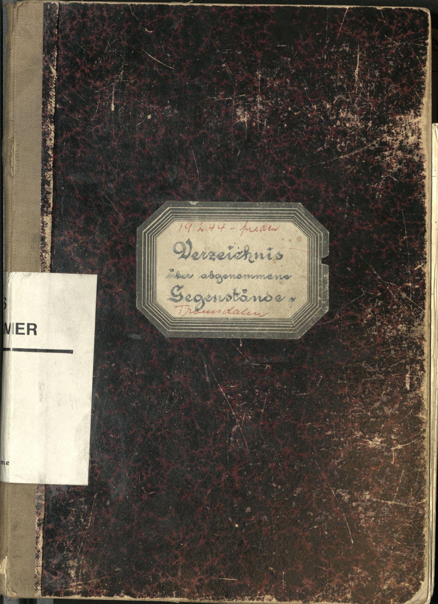 SATØ, Troms politikammer, M/Me/L2376: Forvarte eiendeler, 1944-1945