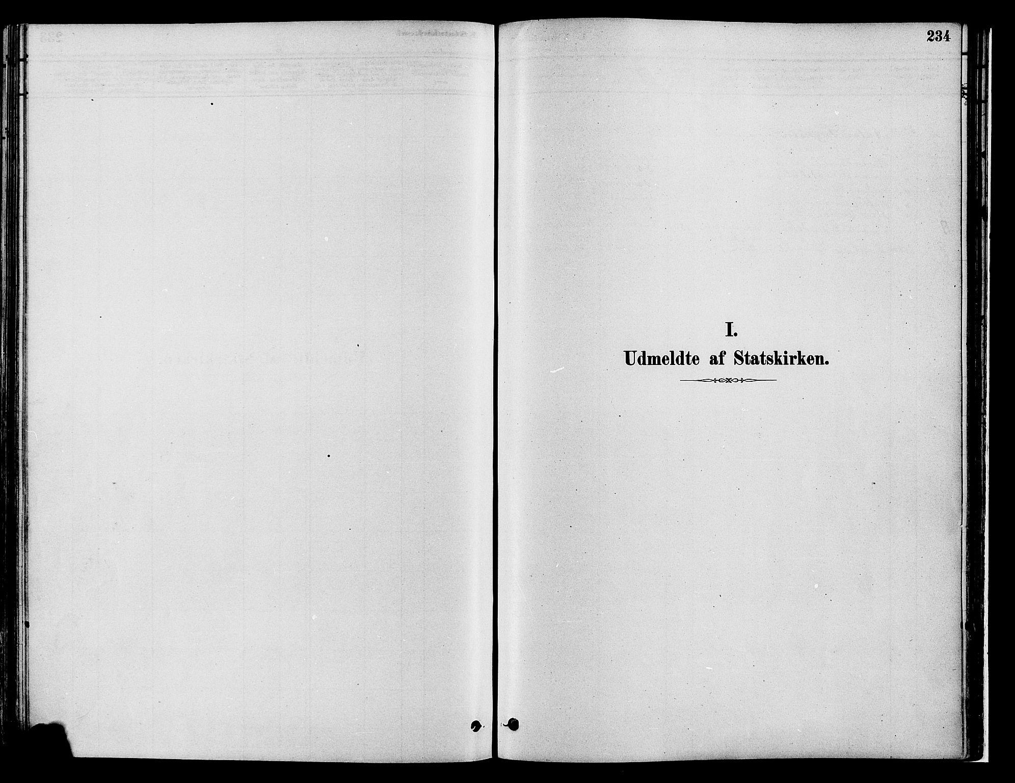 SAH, Gran prestekontor, Ministerialbok nr. 14, 1880-1889, s. 234