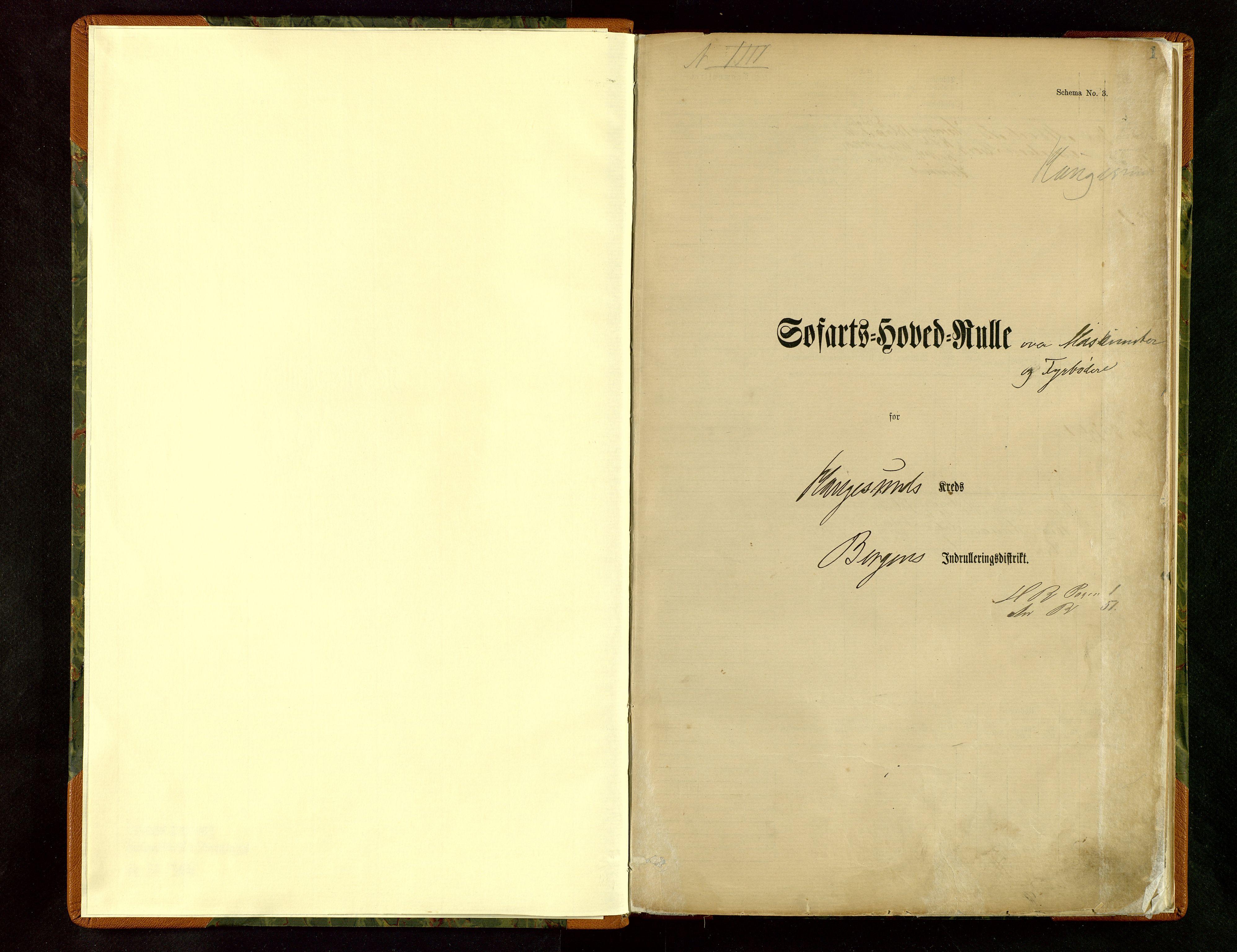 SAST, Haugesund sjømannskontor*, 1883, s. 1