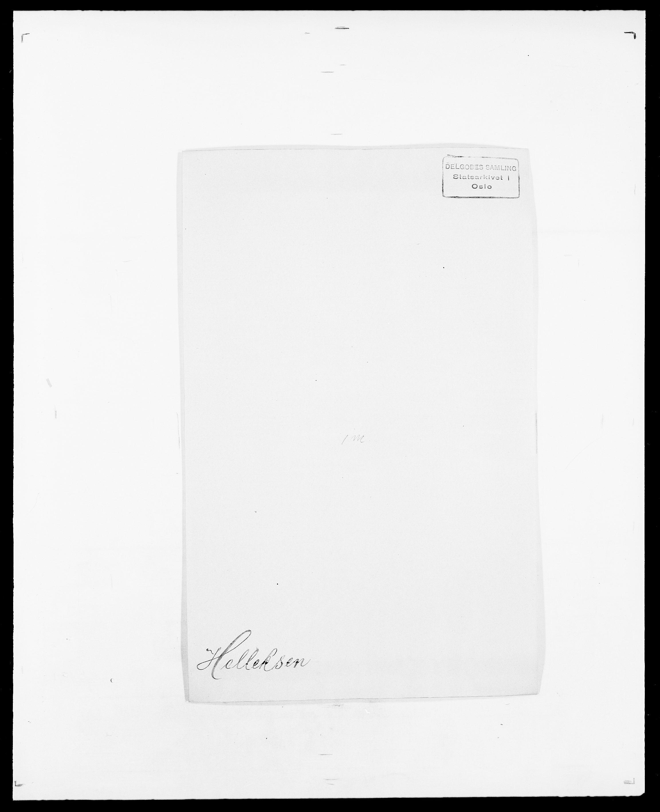 SAO, Delgobe, Charles Antoine - samling, D/Da/L0017: Helander - Hjørne, s. 50