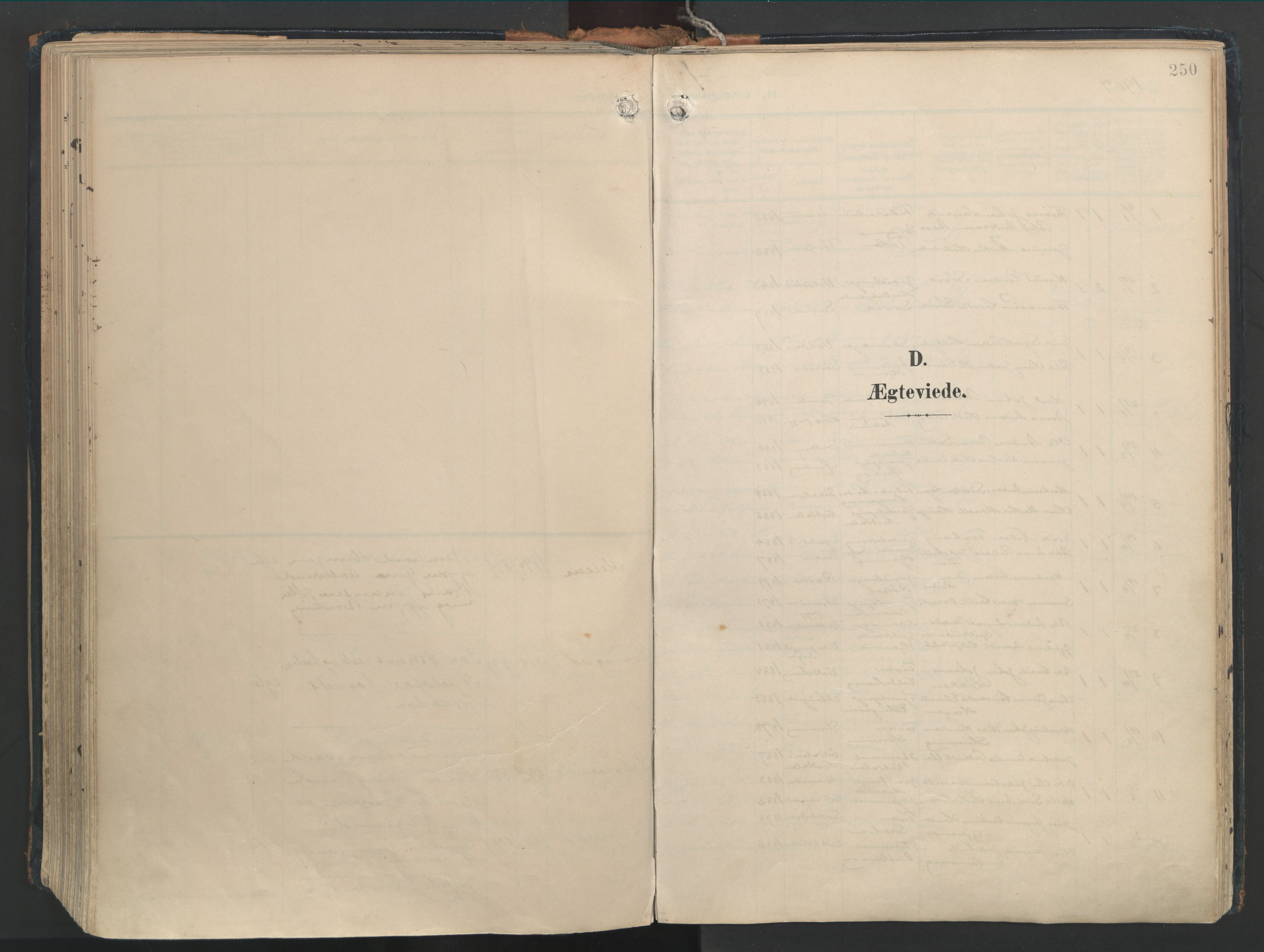 SAT, Ministerialprotokoller, klokkerbøker og fødselsregistre - Møre og Romsdal, 528/L0411: Ministerialbok nr. 528A20, 1907-1920, s. 250