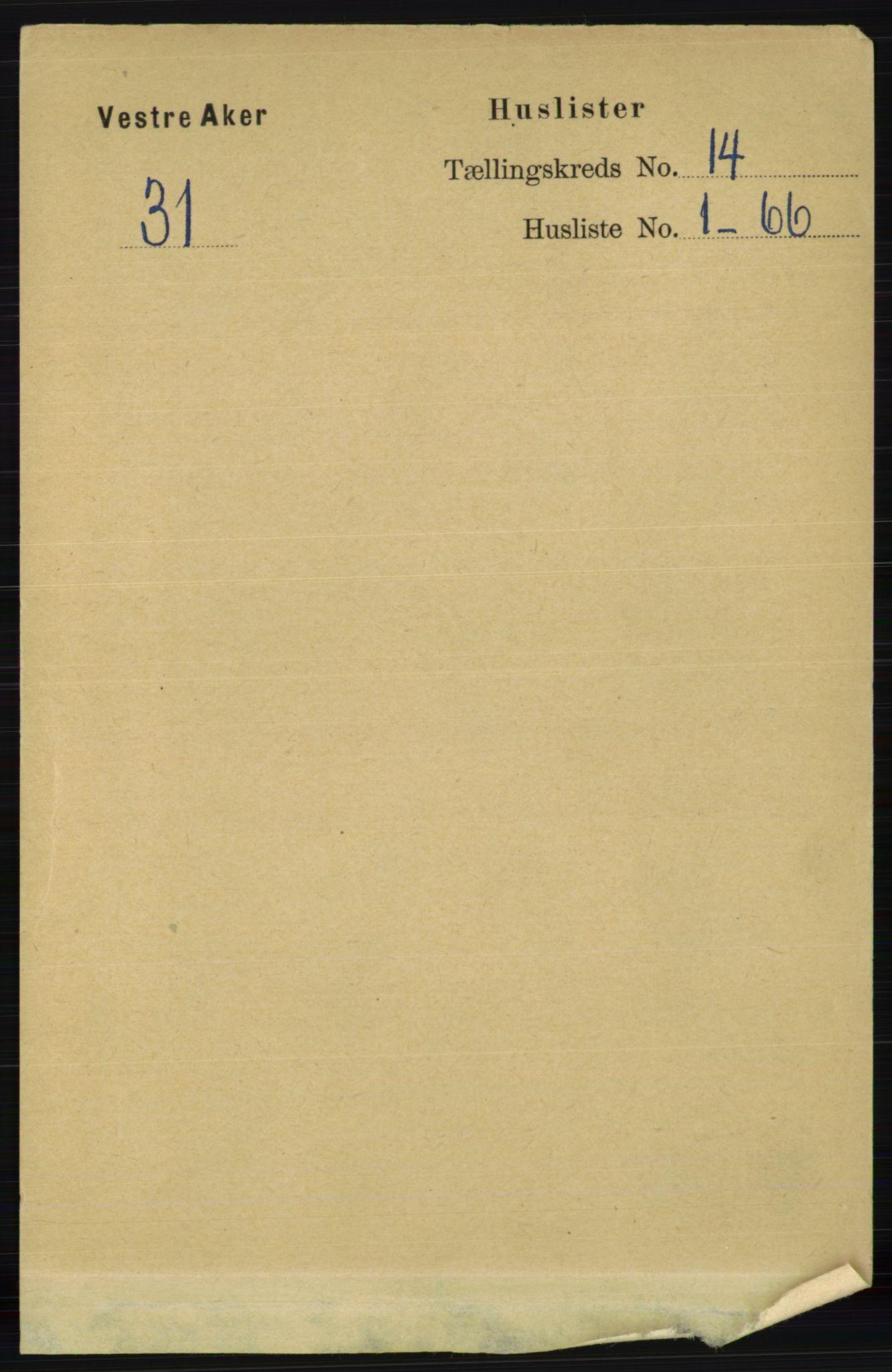 RA, Folketelling 1891 for 0218 Aker herred, 1891, s. 12662