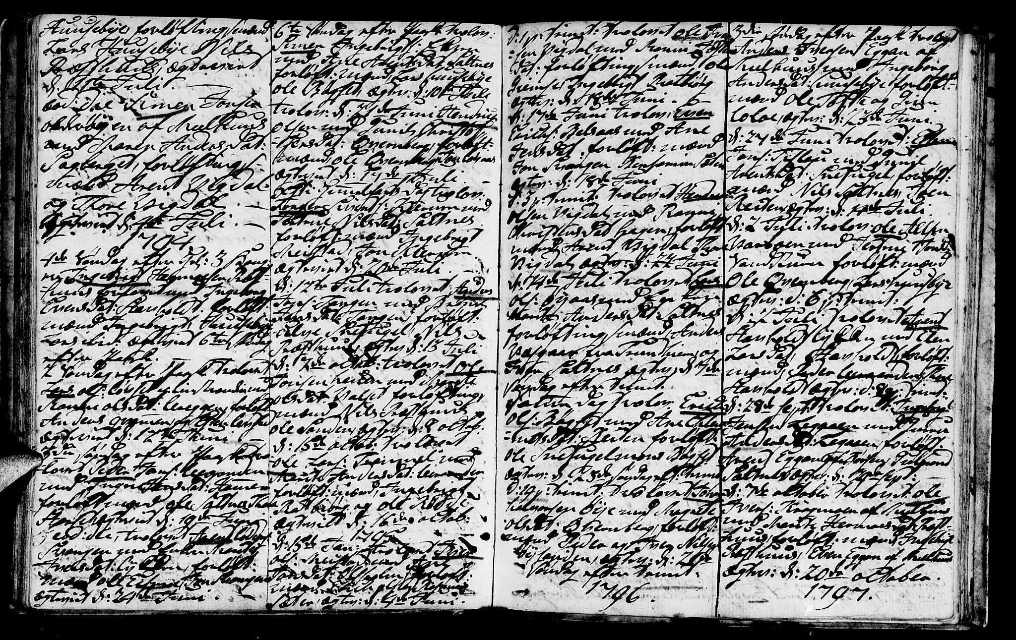 SAT, Ministerialprotokoller, klokkerbøker og fødselsregistre - Sør-Trøndelag, 666/L0784: Ministerialbok nr. 666A02, 1754-1802, s. 98