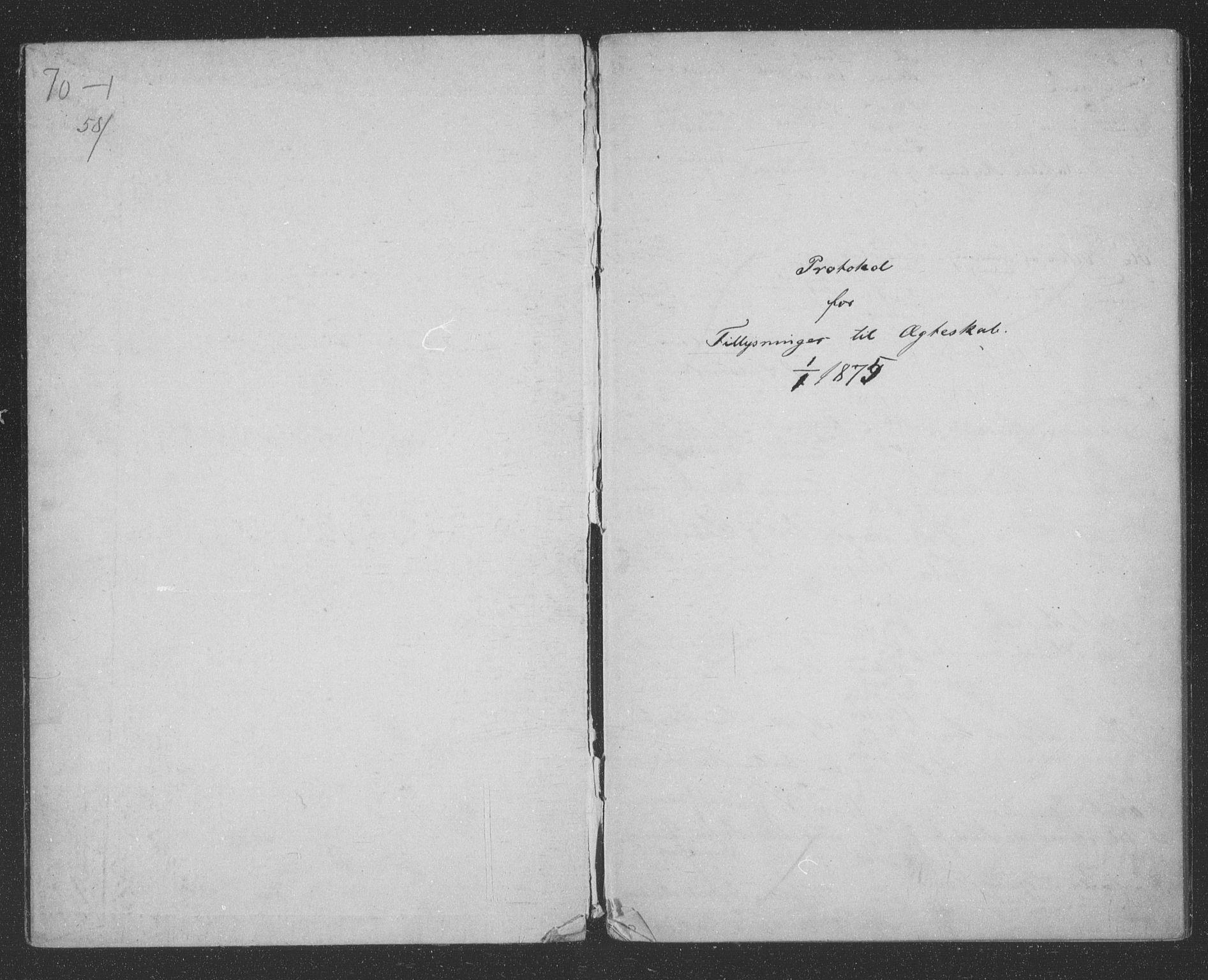 SATØ, Tromsøysund sokneprestkontor, H/Hc/L0055: Lysningsprotokoll nr. 55, 1875-1880