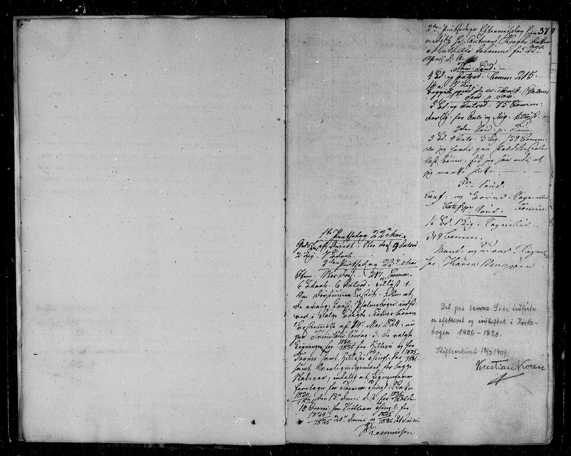 SATØ, Tromsø sokneprestkontor/stiftsprosti/domprosti, G/Ga/L0008kirke: Ministerialbok nr. 8, 1829-1837, s. 37