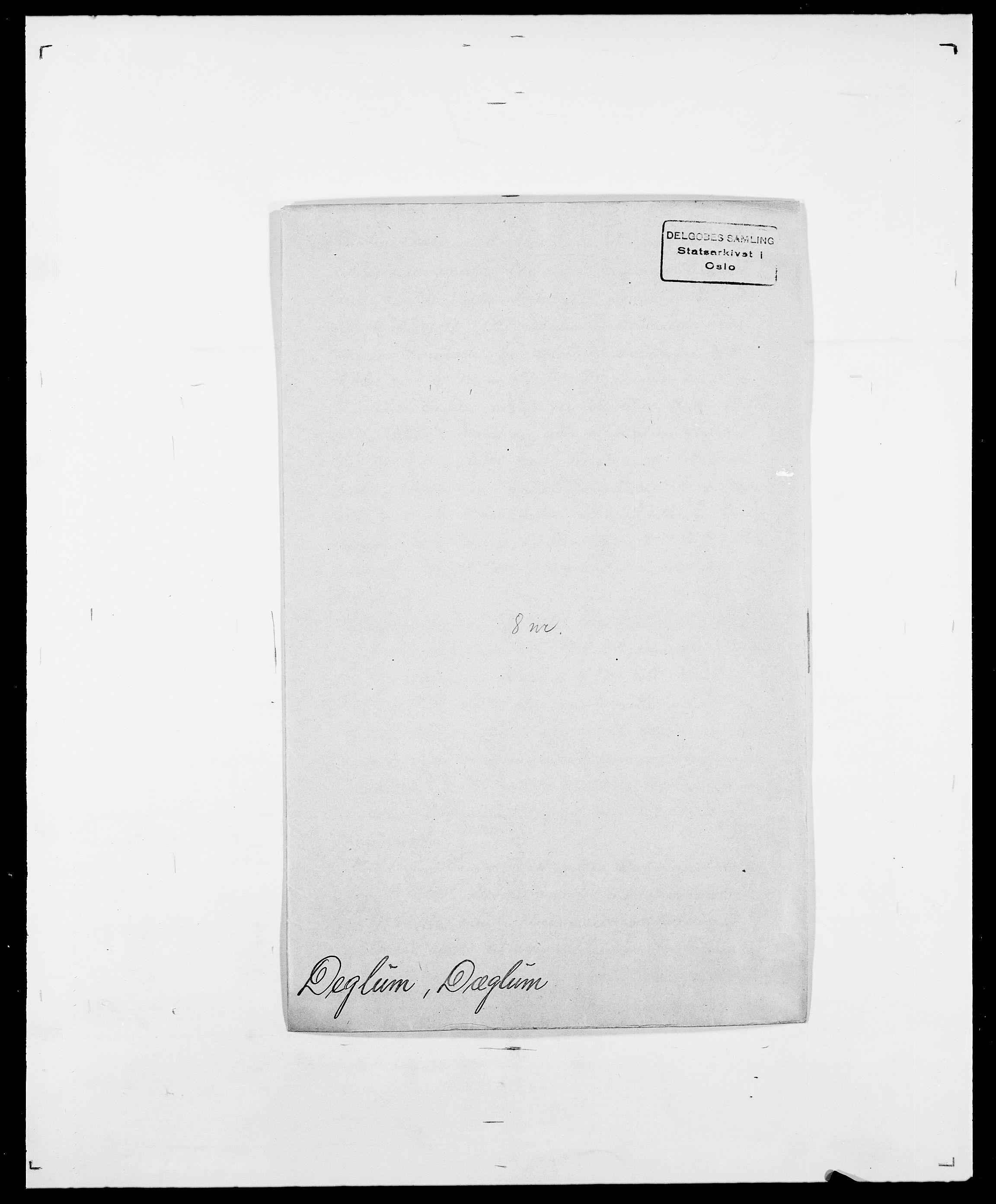 SAO, Delgobe, Charles Antoine - samling, D/Da/L0009: Dahl - v. Düren, s. 429