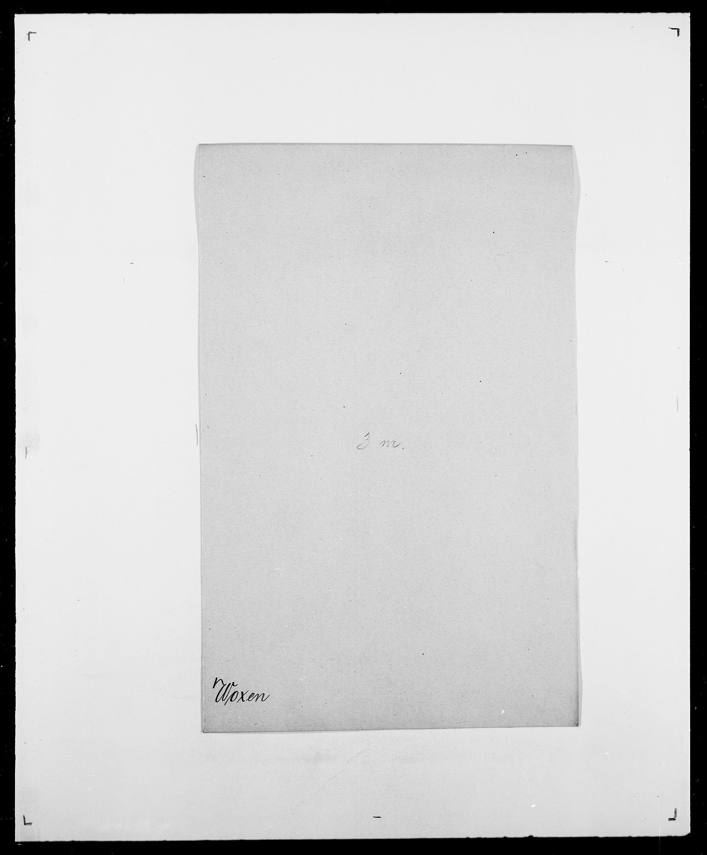 SAO, Delgobe, Charles Antoine - samling, D/Da/L0042: Vilain - Wulf, Wulff, se også Wolf, s. 717