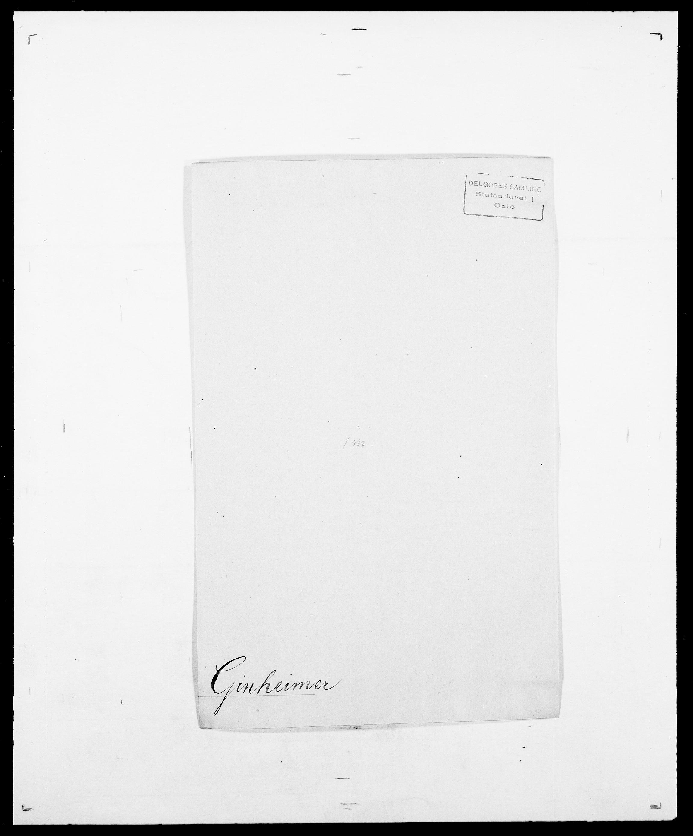 SAO, Delgobe, Charles Antoine - samling, D/Da/L0014: Giebdhausen - Grip, s. 39