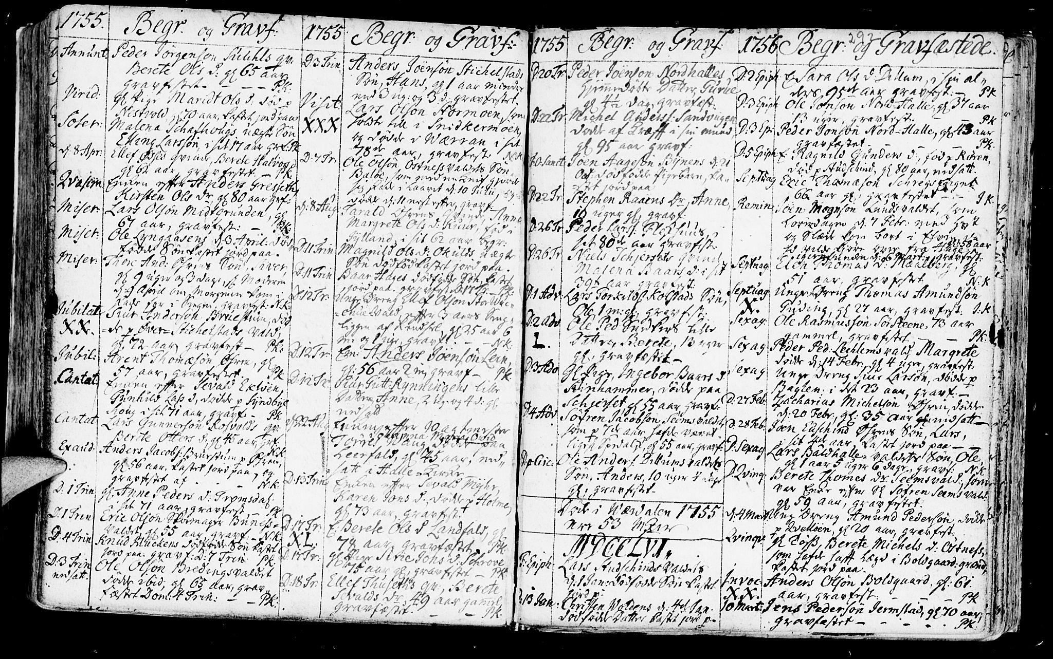 SAT, Ministerialprotokoller, klokkerbøker og fødselsregistre - Nord-Trøndelag, 723/L0231: Ministerialbok nr. 723A02, 1748-1780, s. 292