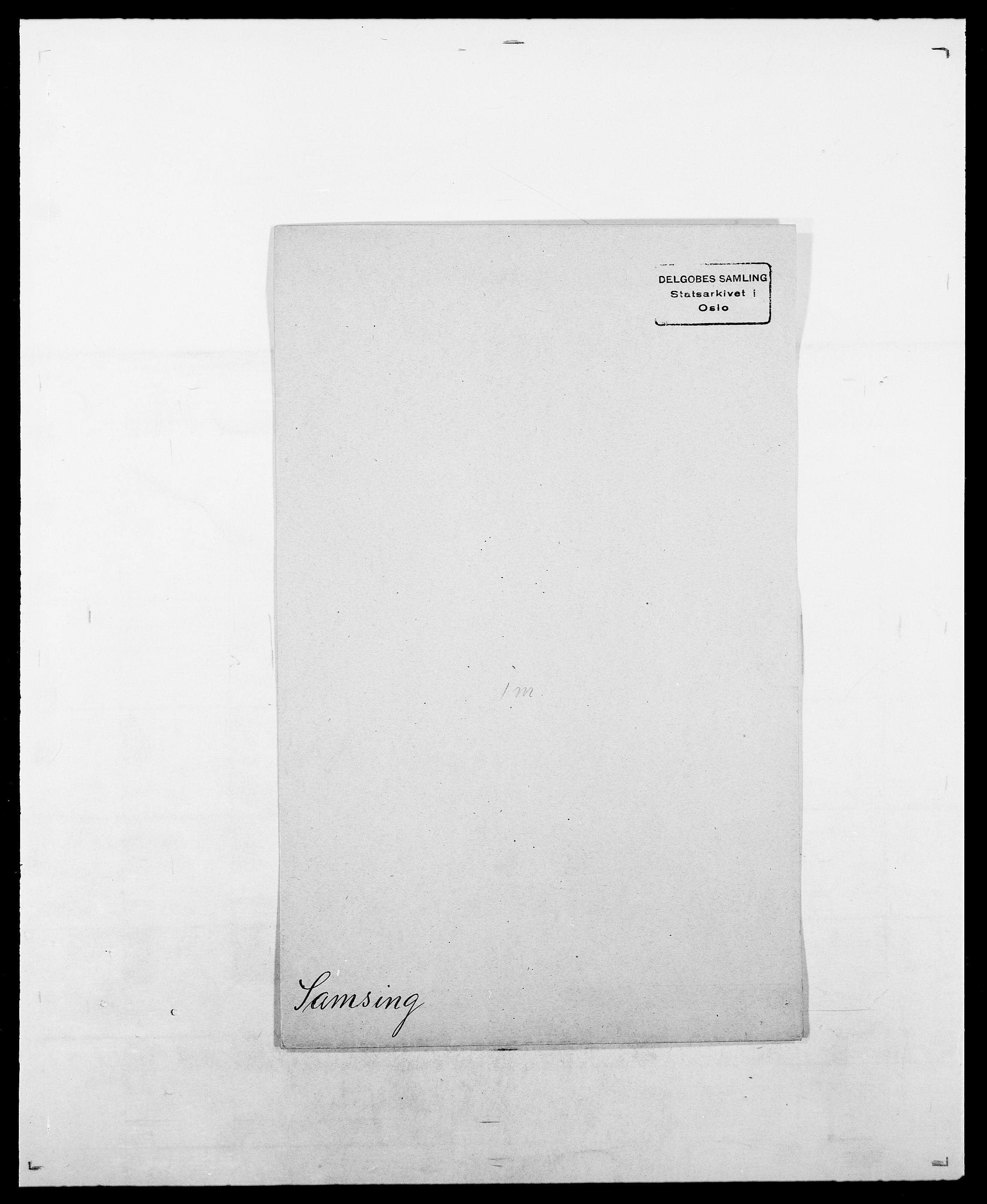SAO, Delgobe, Charles Antoine - samling, D/Da/L0034: Saabye - Schmincke, s. 89