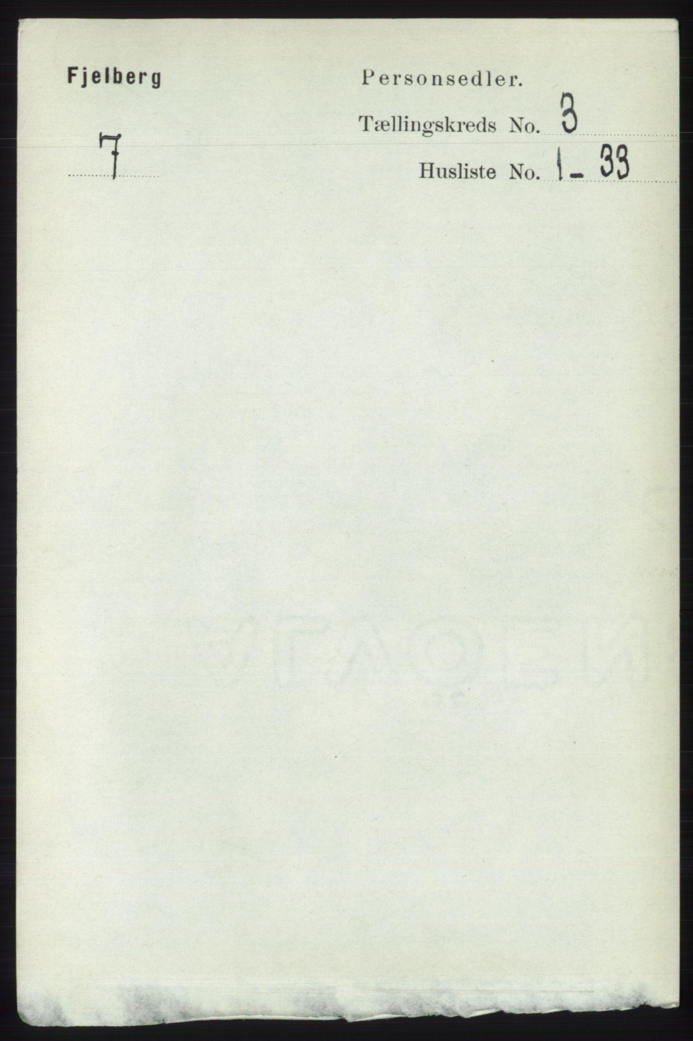 RA, Folketelling 1891 for 1213 Fjelberg herred, 1891, s. 785