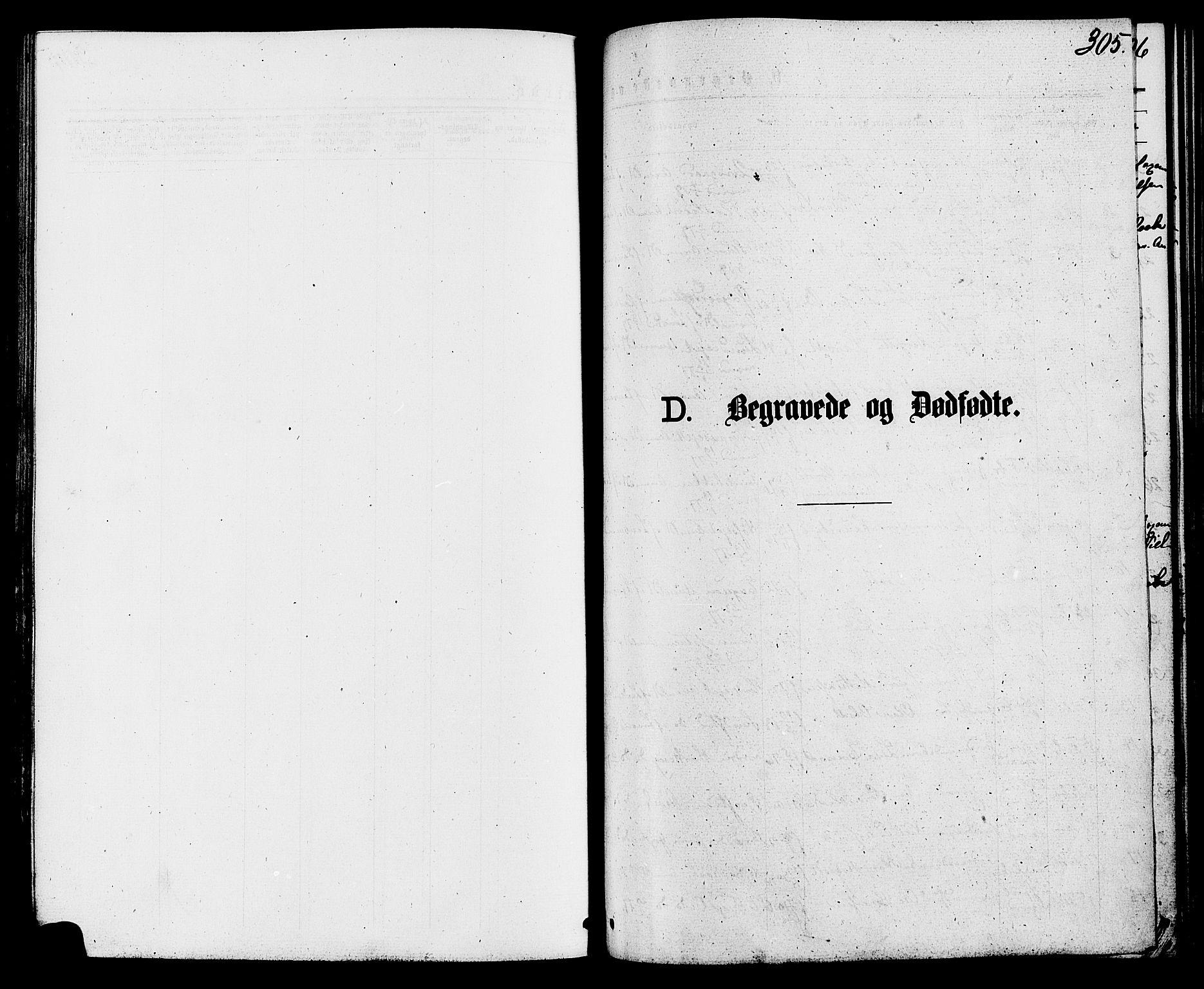 SAH, Biri prestekontor, Ministerialbok nr. 6, 1877-1886, s. 305