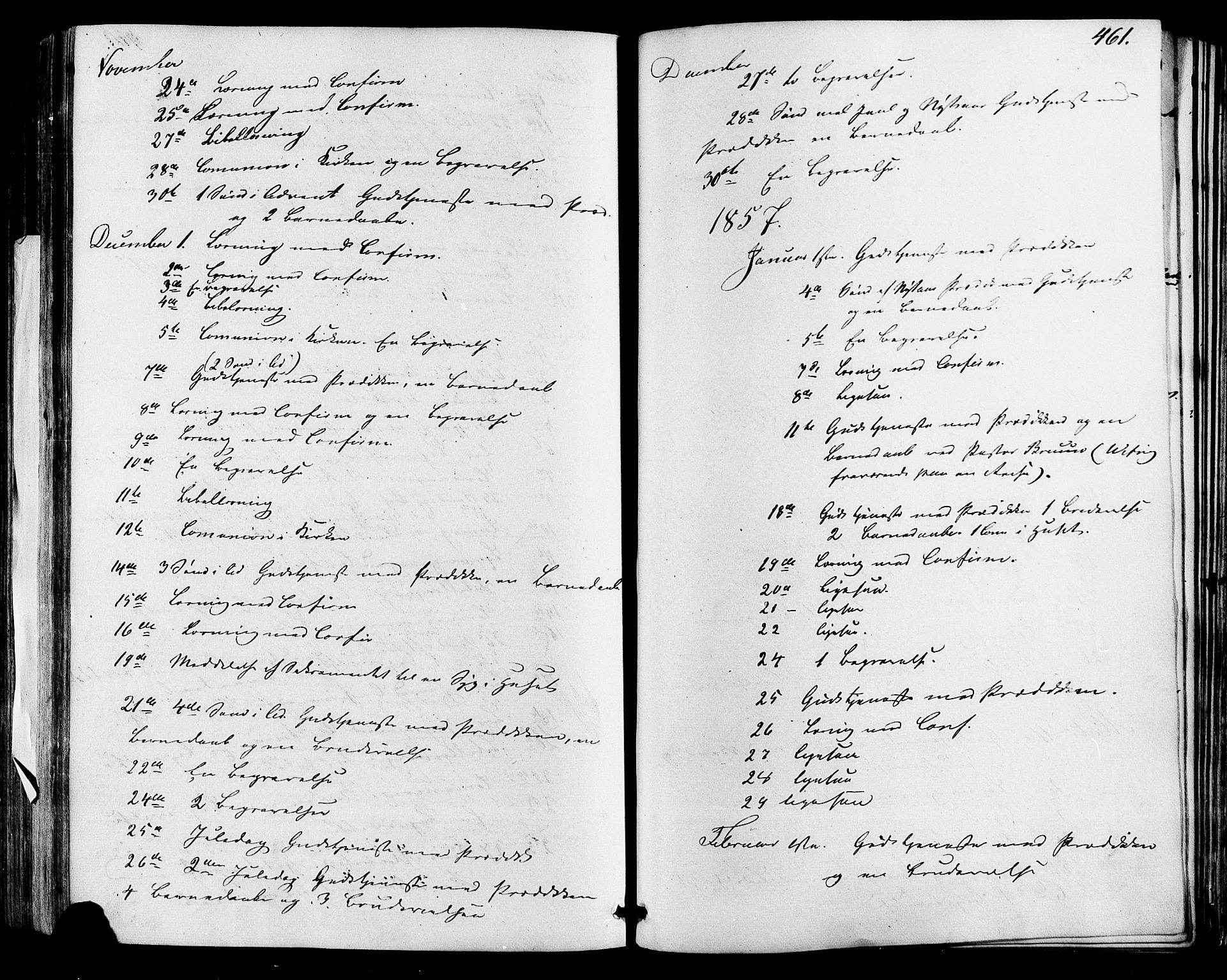 SAKO, Skien kirkebøker, F/Fa/L0007: Ministerialbok nr. 7, 1856-1865, s. 461