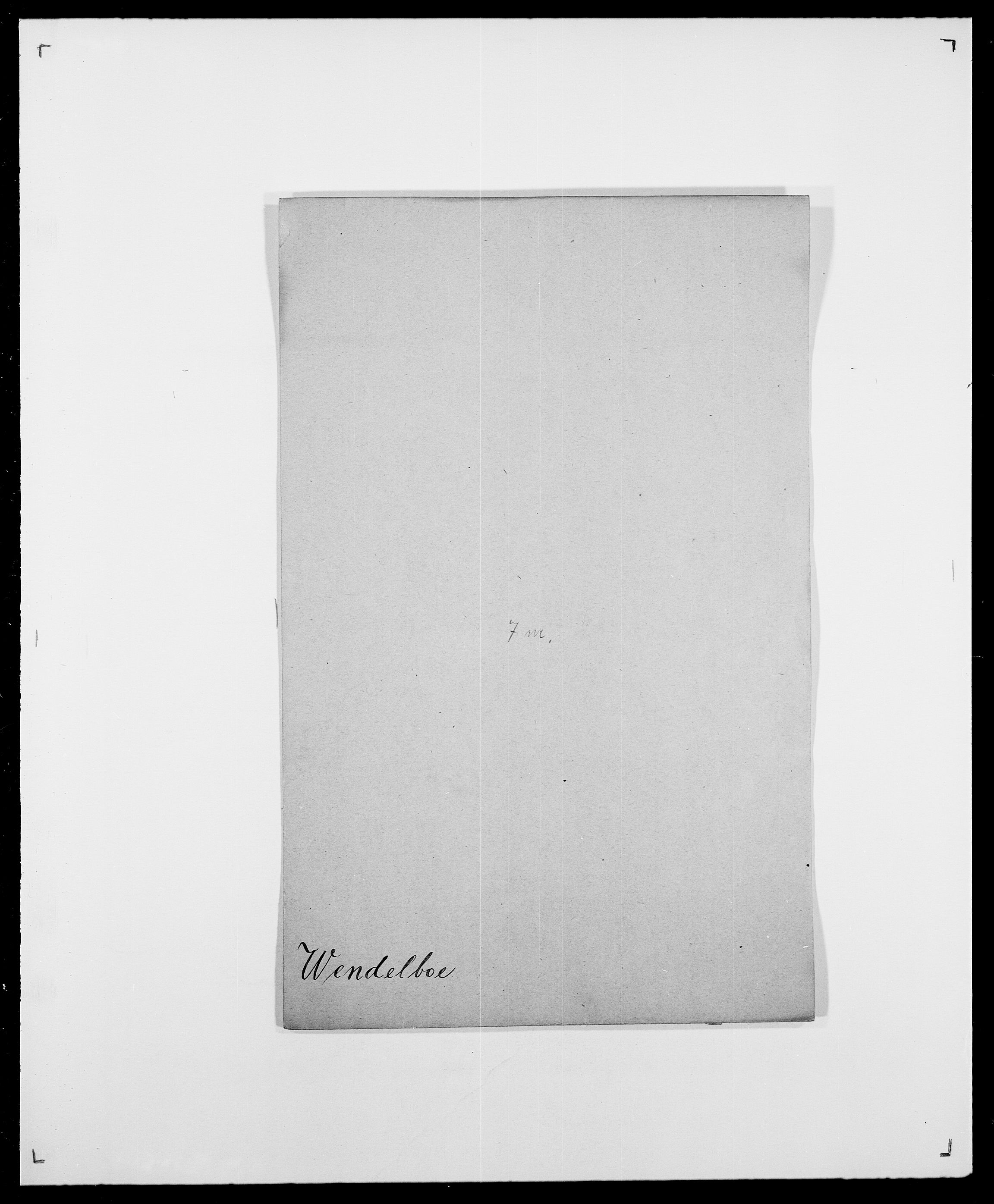 SAO, Delgobe, Charles Antoine - samling, D/Da/L0041: Vemmestad - Viker, s. 12
