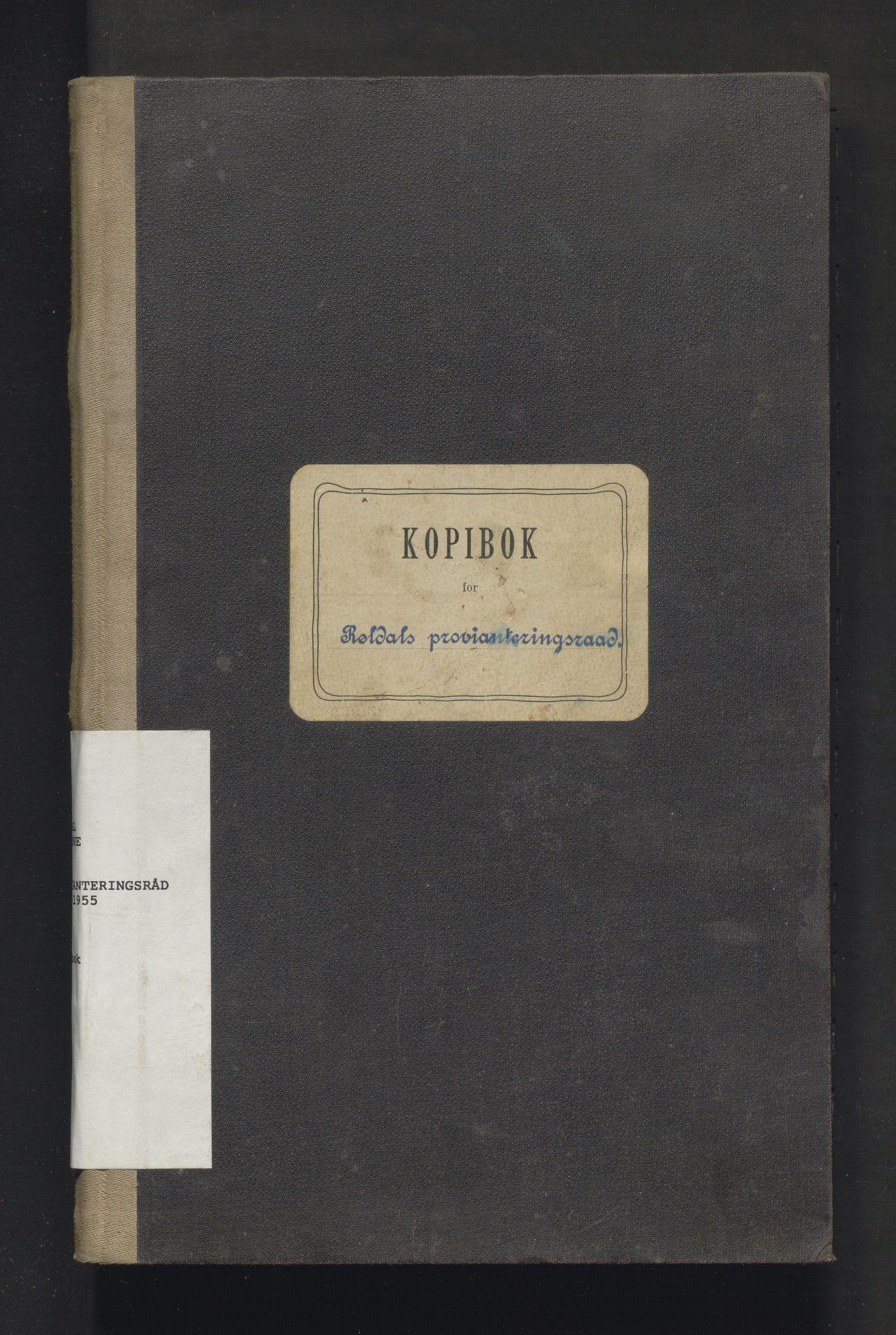 IKAH, Røldal kommune. Provianteringsrådet, B/Ba/L0001: Kopibok for Røldal provianteringsråd, 1916-1920