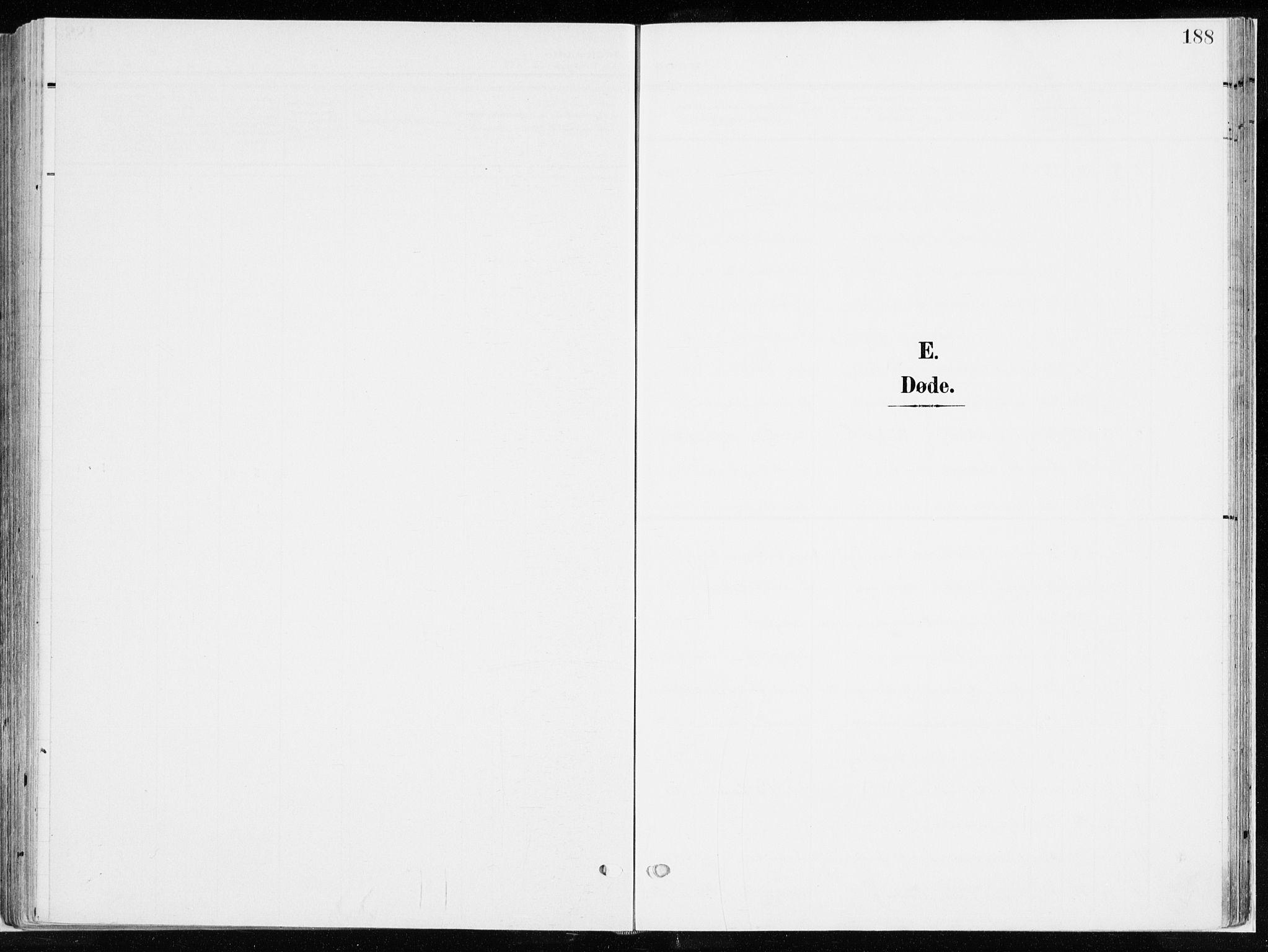 SAH, Ringsaker prestekontor, K/Ka/L0019: Ministerialbok nr. 19, 1905-1920, s. 188