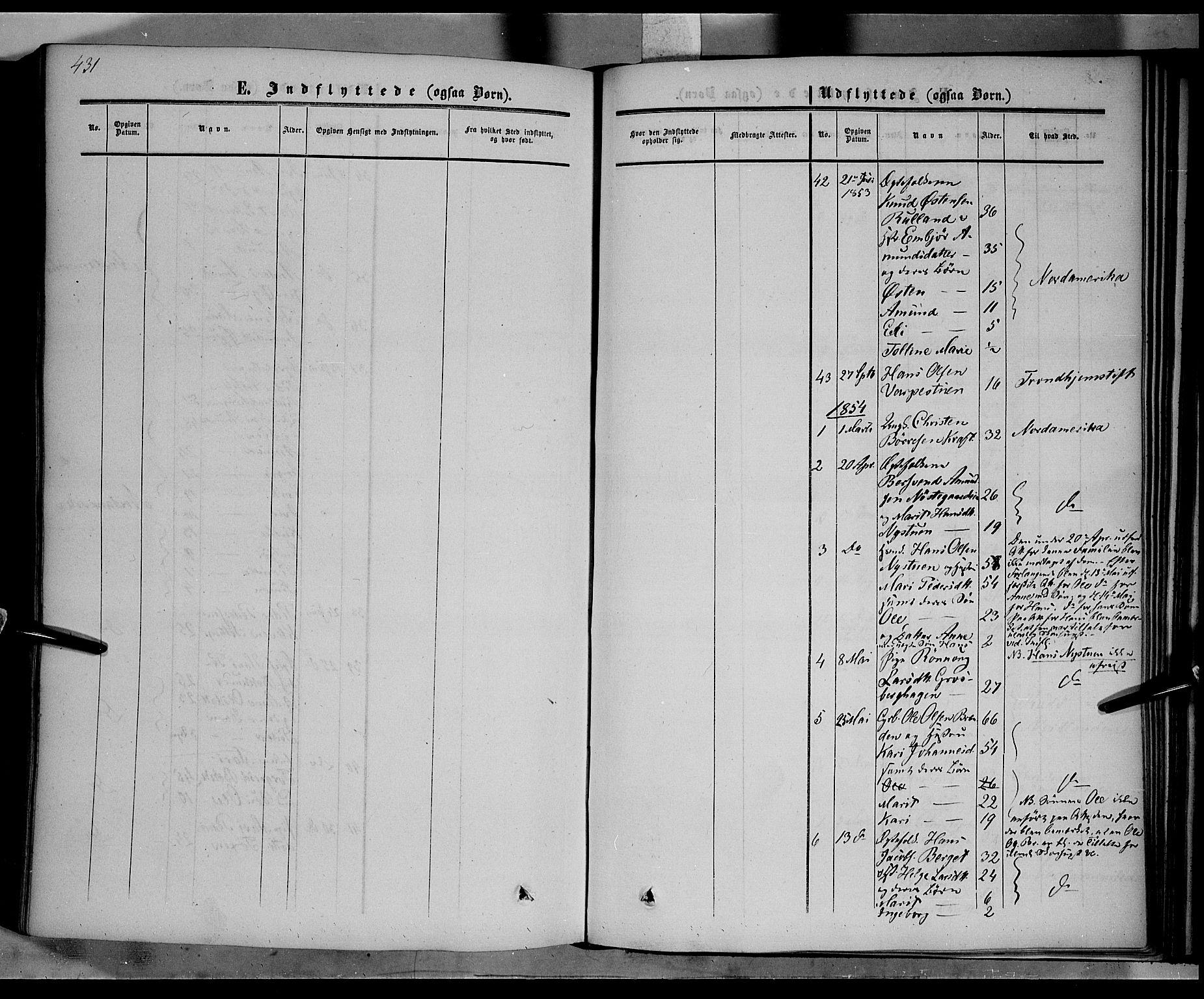 SAH, Nord-Fron prestekontor, Ministerialbok nr. 1, 1851-1864, s. 431