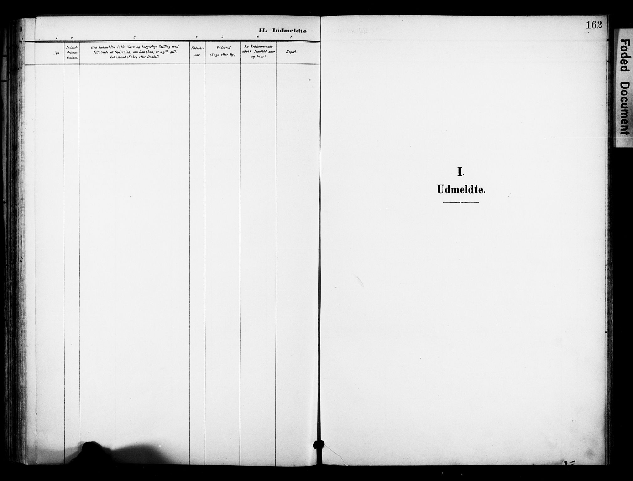 SAKO, Bø kirkebøker, F/Fa/L0012: Ministerialbok nr. 12, 1900-1908, s. 162