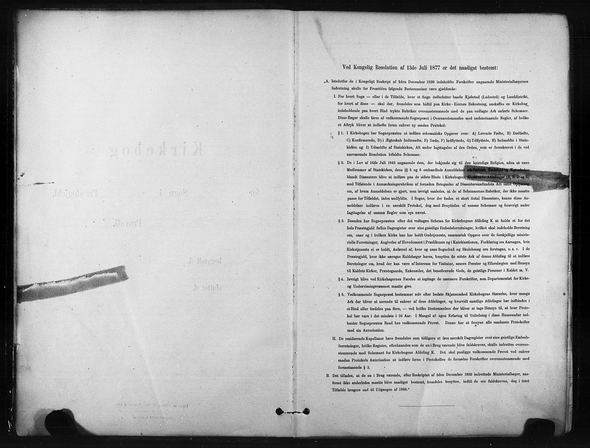 SAKO, Bø kirkebøker, F/Fa/L0010: Ministerialbok nr. 10, 1880-1892