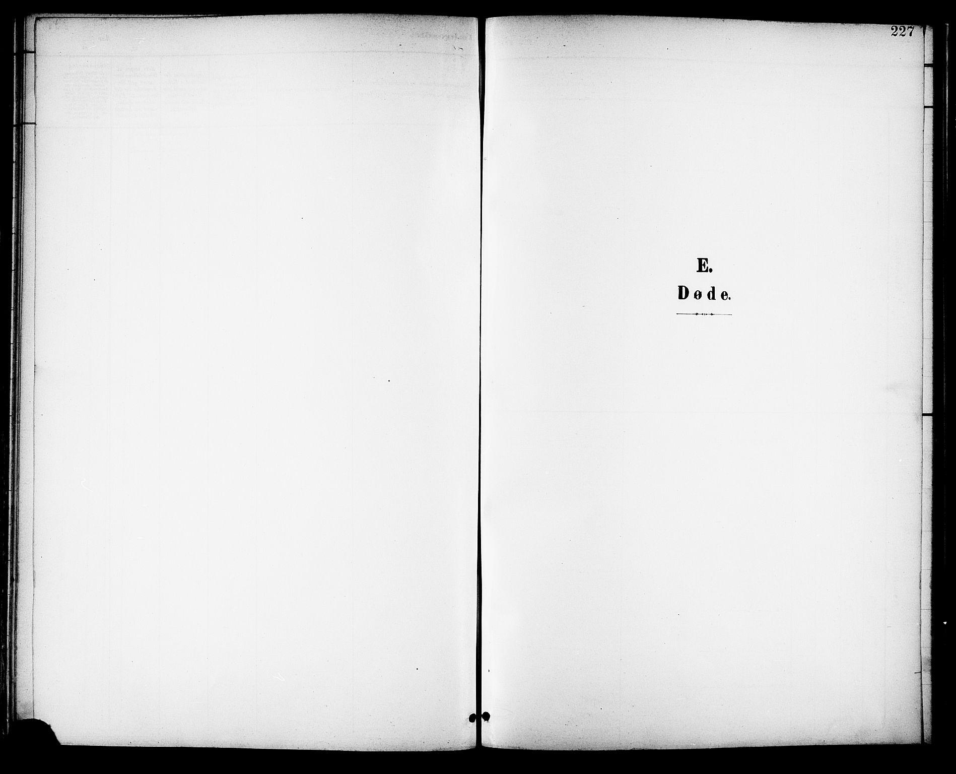 SAT, Ministerialprotokoller, klokkerbøker og fødselsregistre - Nordland, 882/L1179: Ministerialbok nr. 882A01, 1886-1898, s. 227
