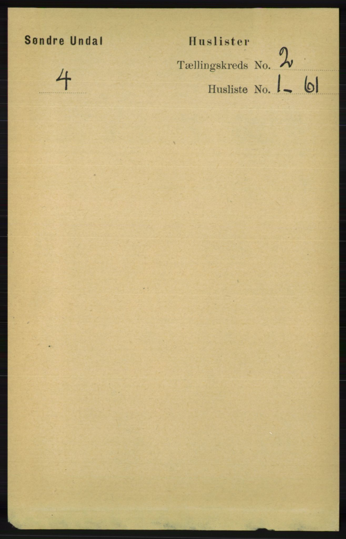 RA, Folketelling 1891 for 1029 Sør-Audnedal herred, 1891, s. 341