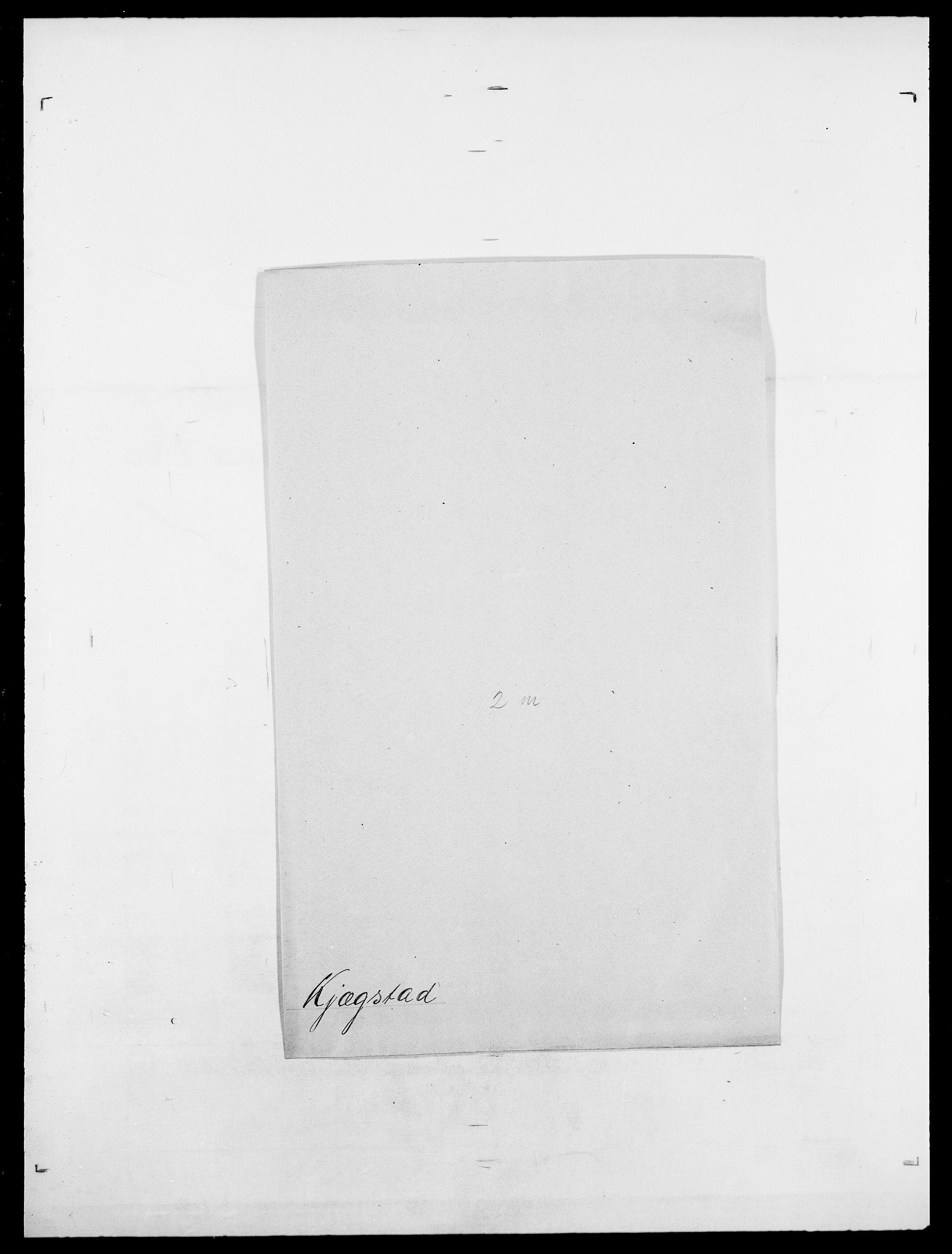 SAO, Delgobe, Charles Antoine - samling, D/Da/L0020: Irgens - Kjøsterud, s. 815