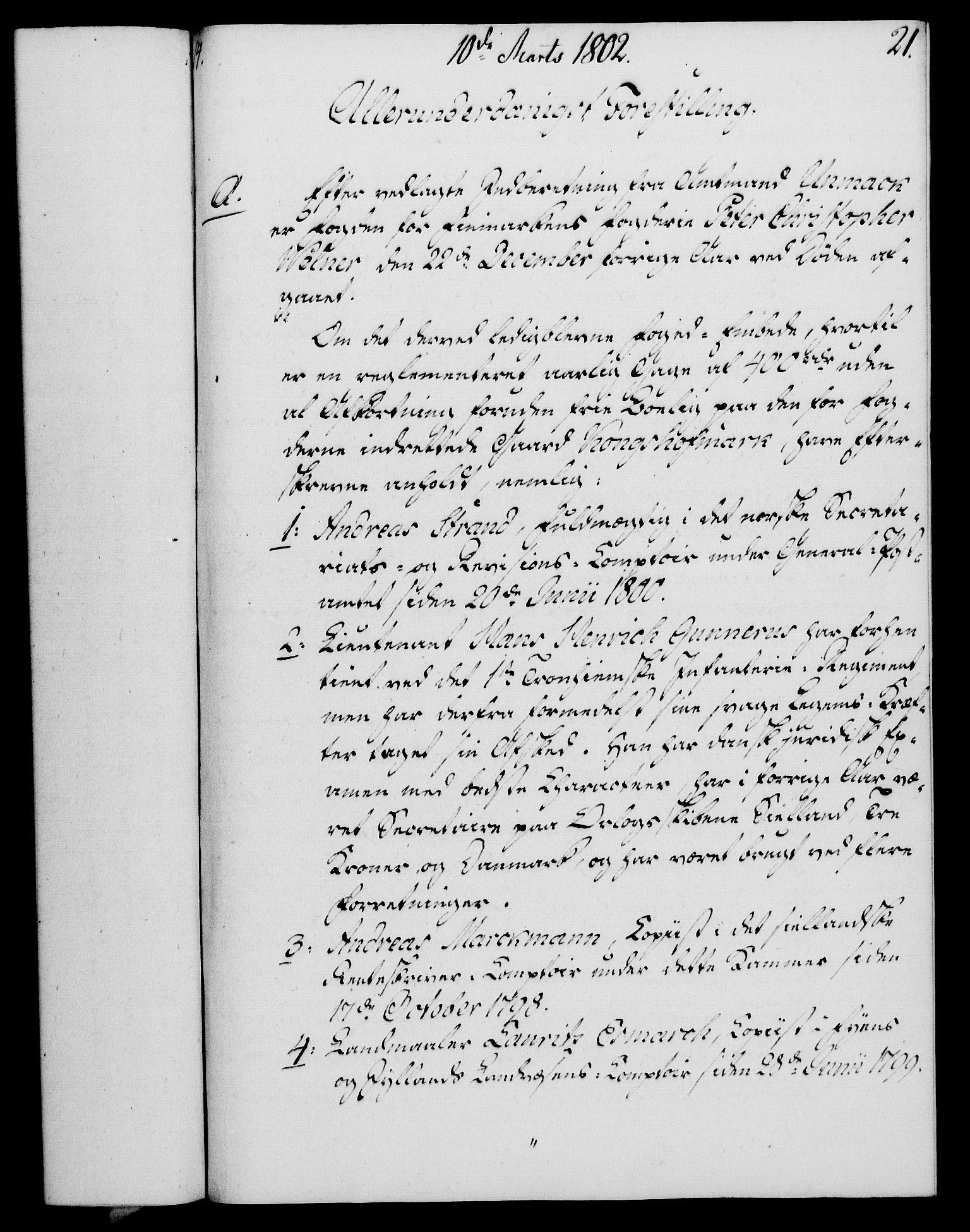 RA, Rentekammeret, Kammerkanselliet, G/Gf/Gfa/L0084: Norsk relasjons- og resolusjonsprotokoll (merket RK 52.84), 1802, s. 150