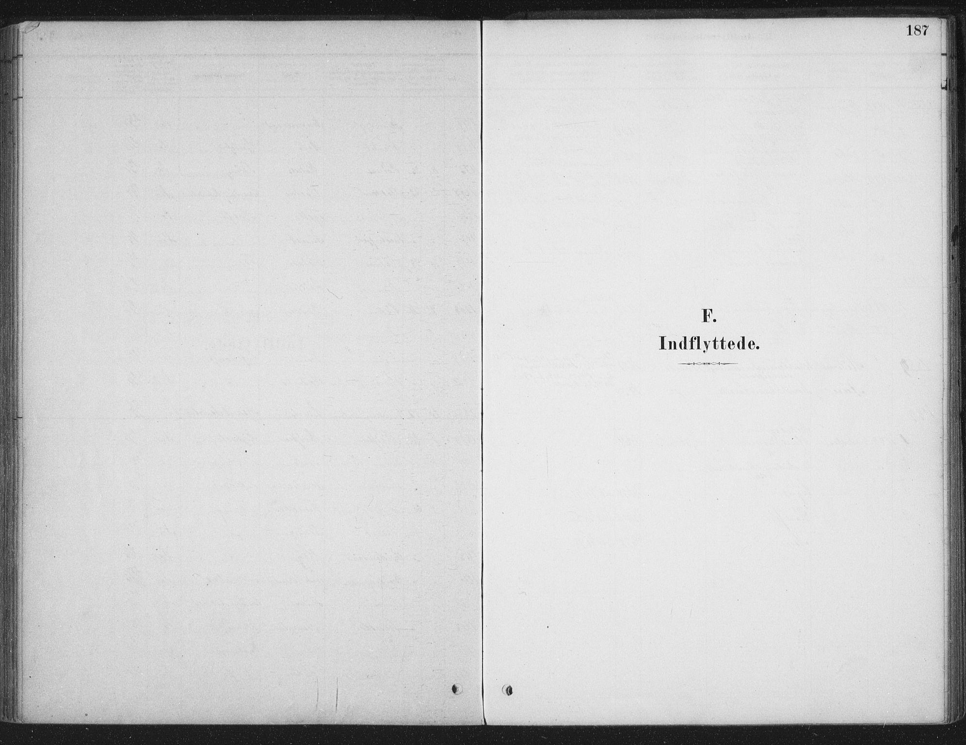 SAT, Ministerialprotokoller, klokkerbøker og fødselsregistre - Sør-Trøndelag, 662/L0755: Ministerialbok nr. 662A01, 1879-1905, s. 187