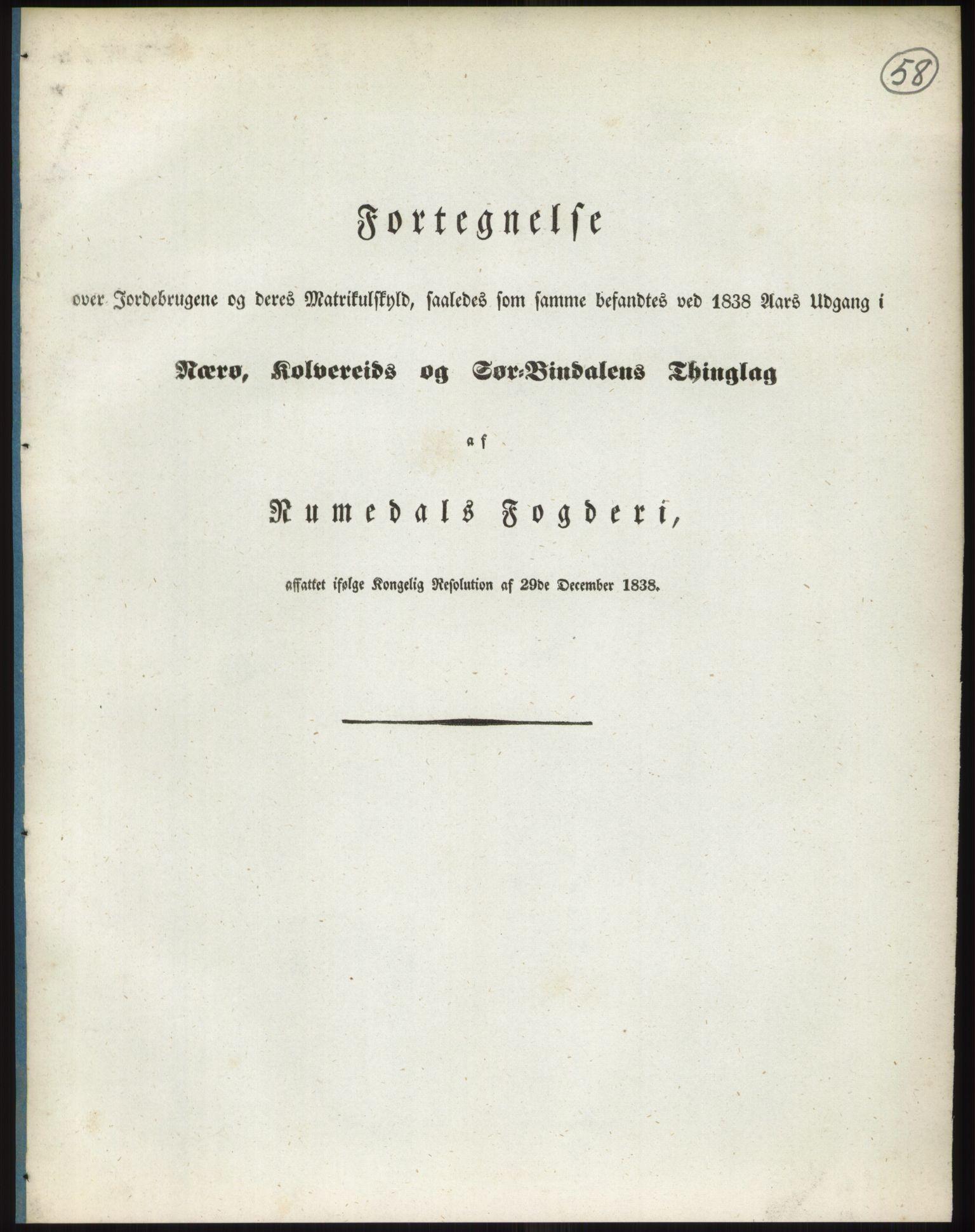 RA, 1838-matrikkelen (publikasjon)*, 1838, s. 58